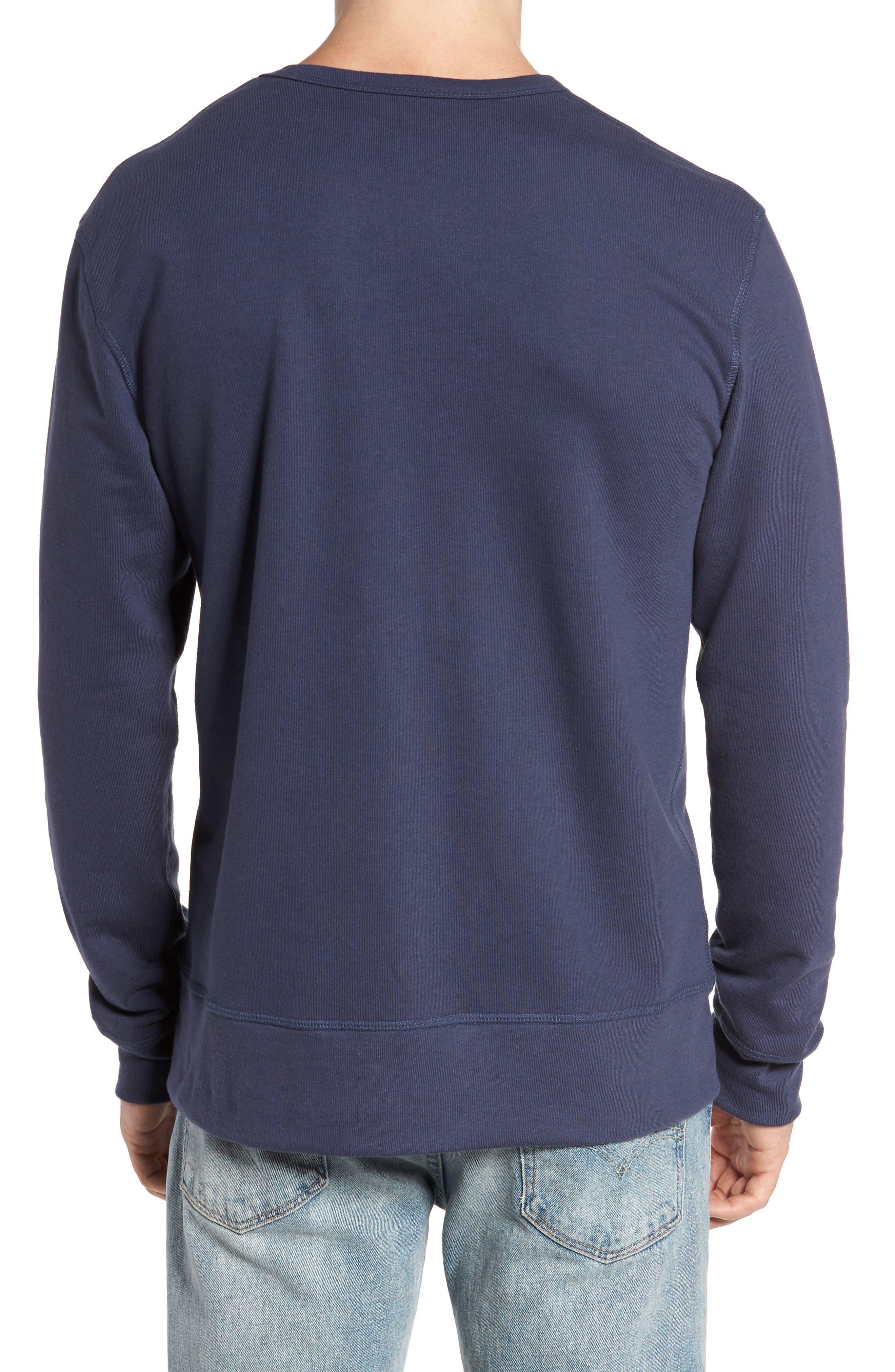 B-Side Reversible Crewneck Sweatshirt,                             Alternate thumbnail 12, color,