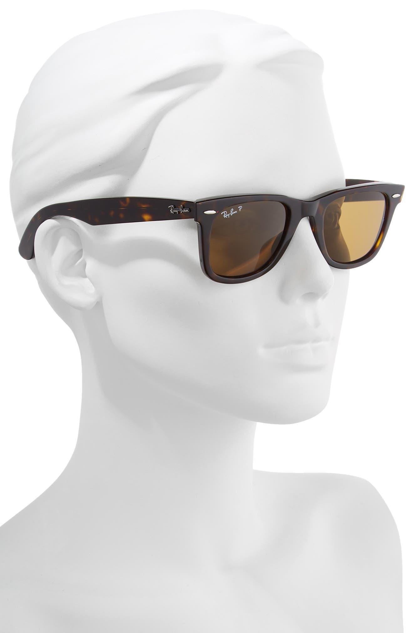 Standard Classic Wayfarer 50mm Polarized Sunglasses,                             Alternate thumbnail 2, color,                             205