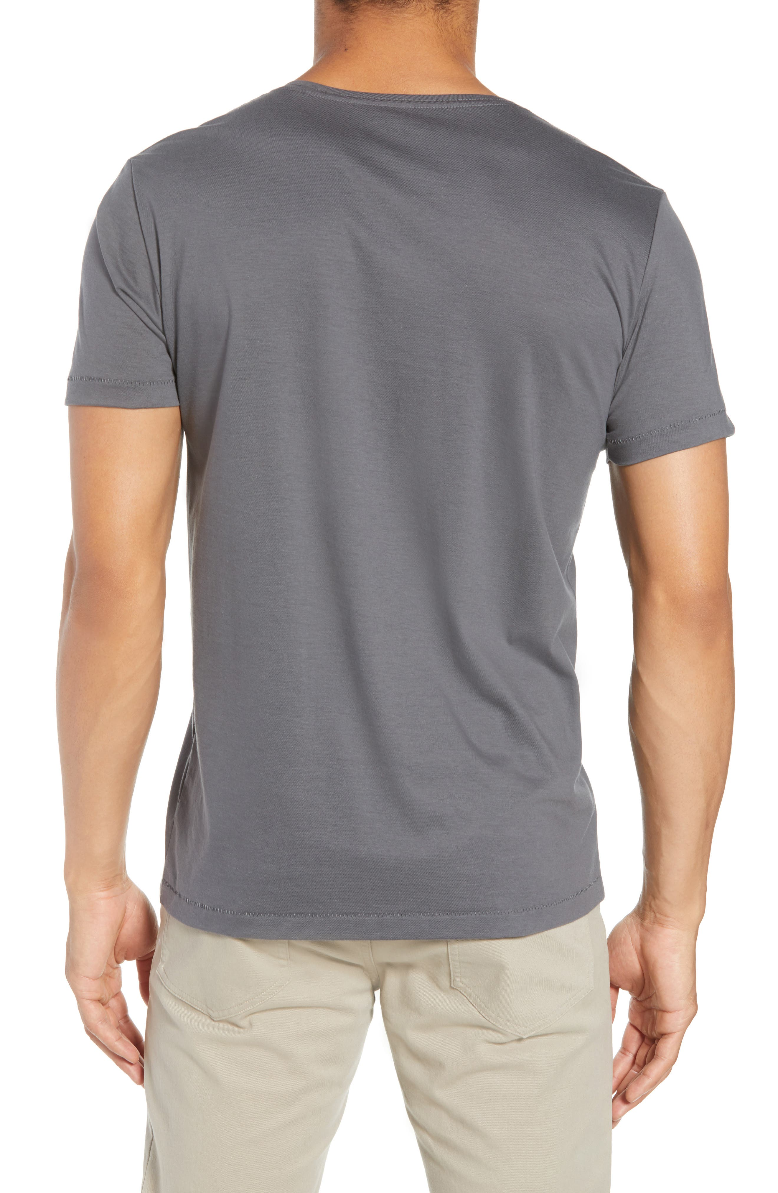Superfine Henley T-Shirt,                             Alternate thumbnail 2, color,                             020