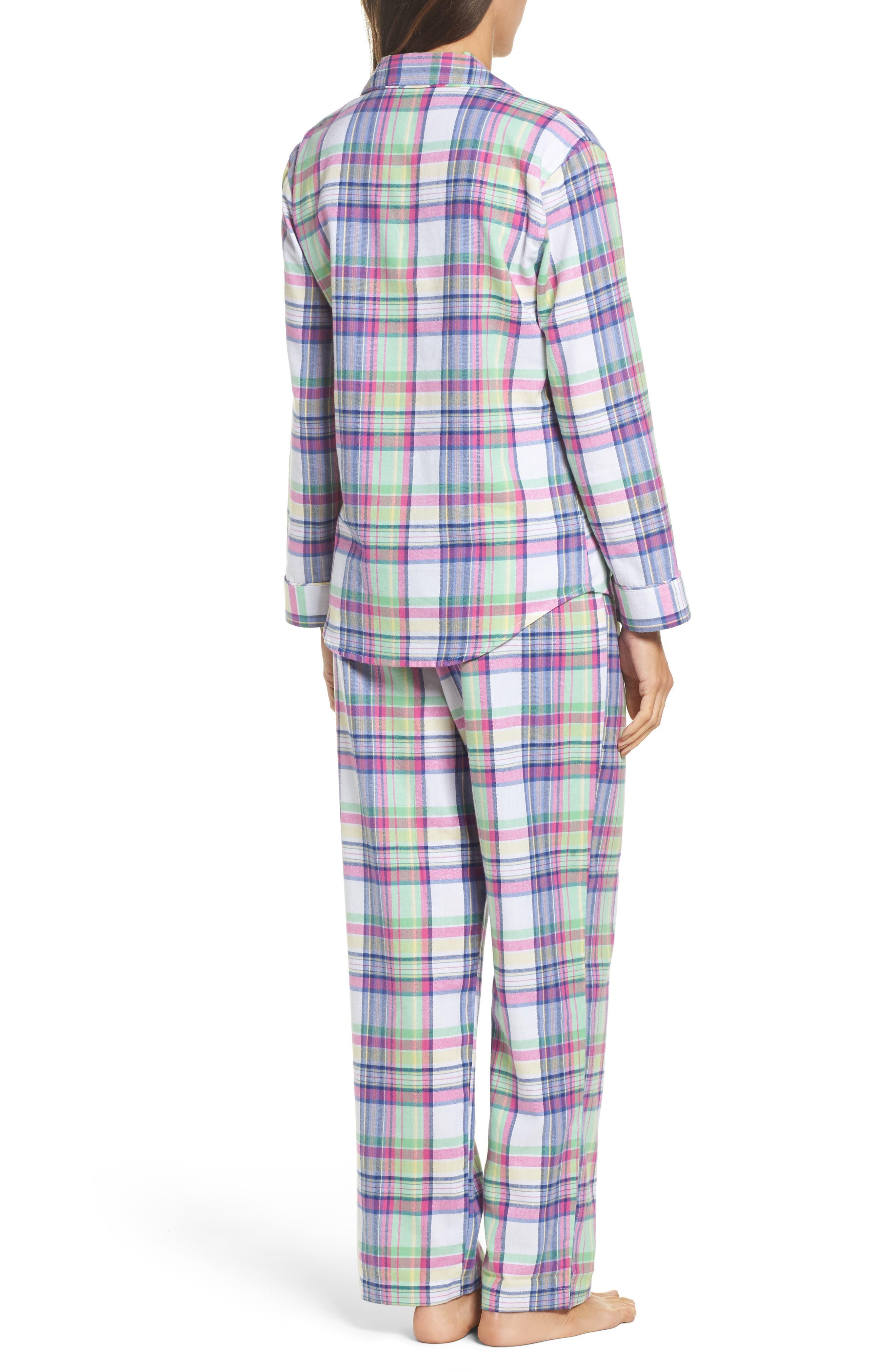 Notch Collar Pajamas,                             Alternate thumbnail 2, color,                             304