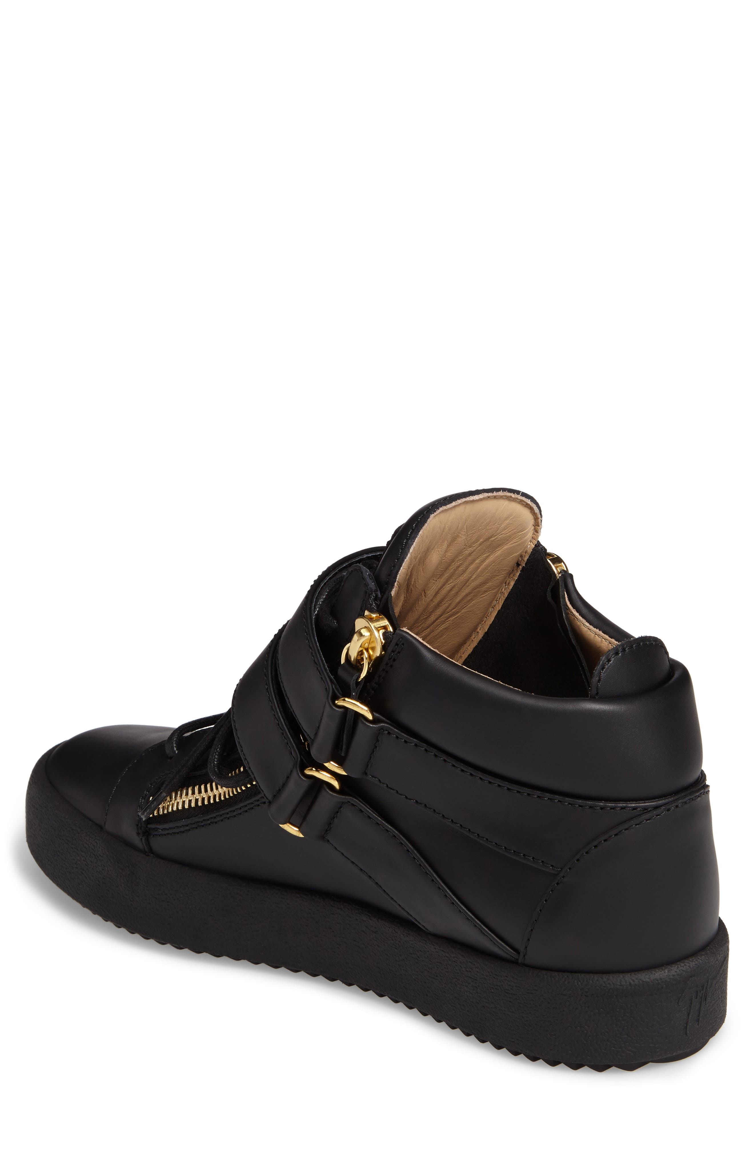 Gold Horn Mid Top Sneaker,                             Alternate thumbnail 2, color,