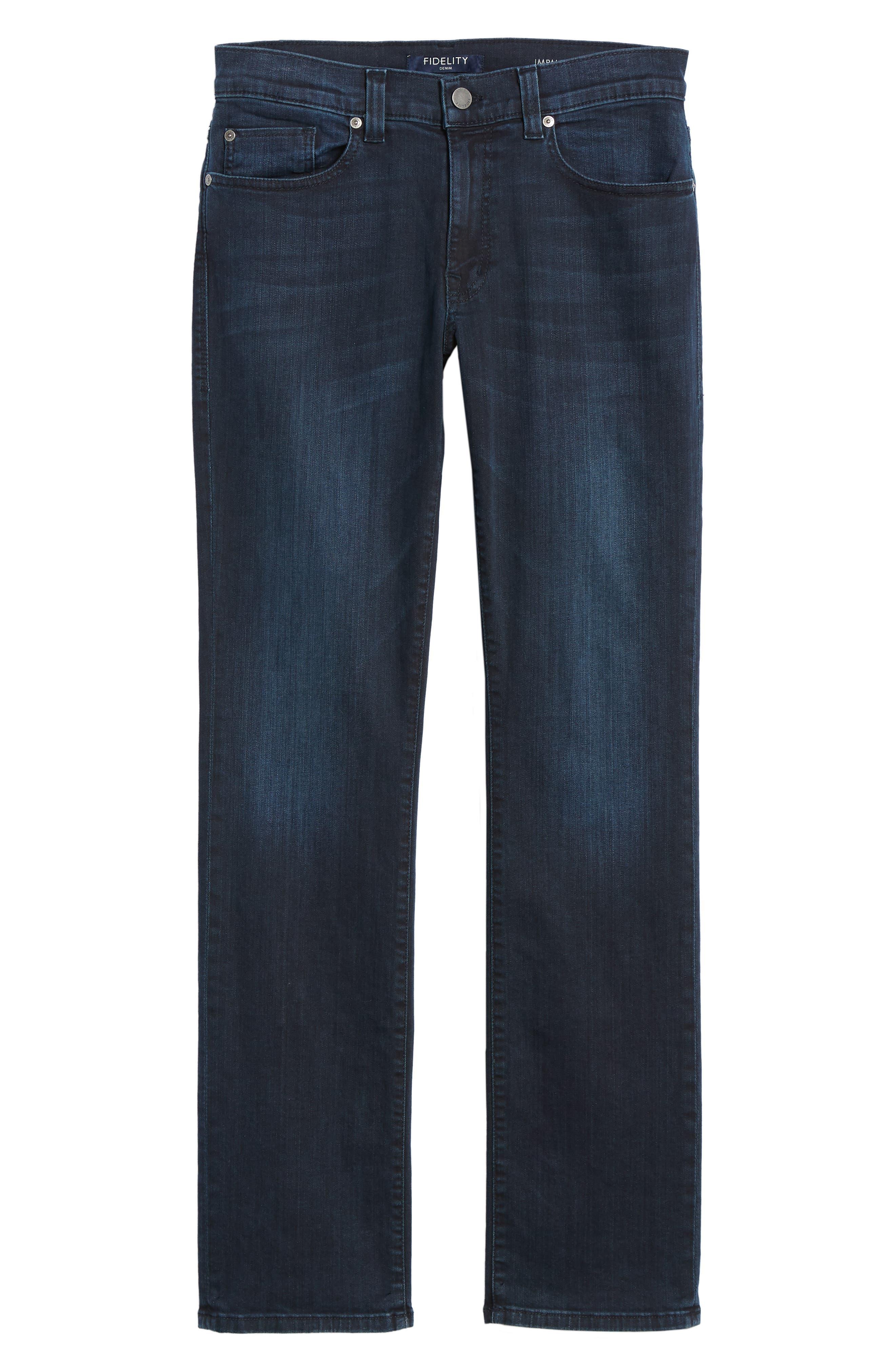 Impala Straight Leg Jeans,                             Alternate thumbnail 6, color,                             GENESIS