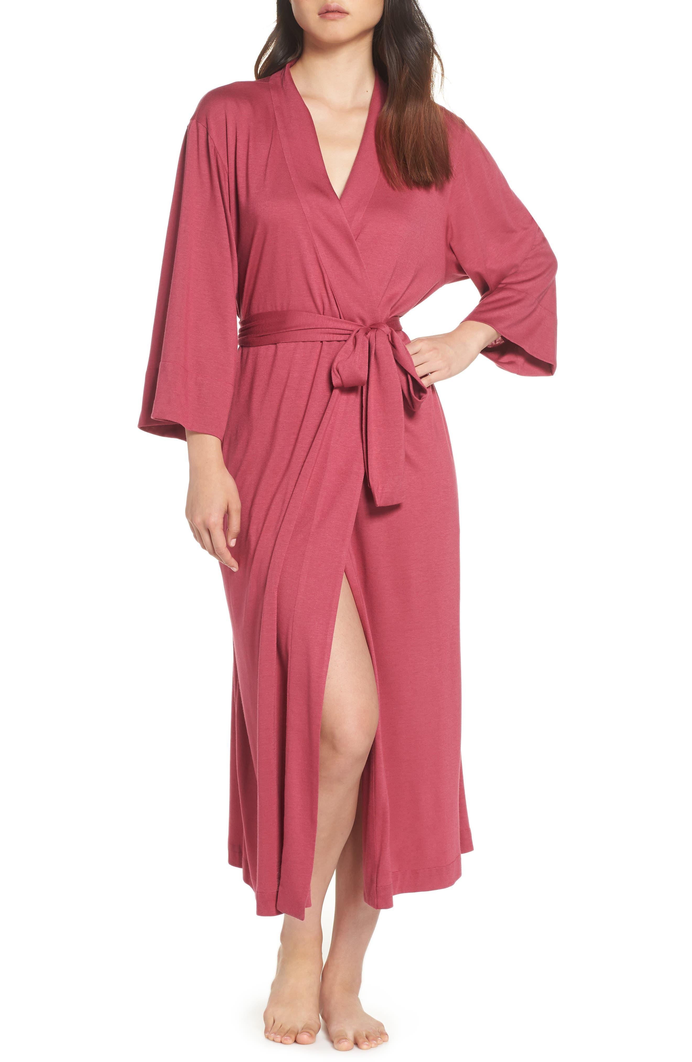 'Shangri-La' Robe,                         Main,                         color, RUB RUBY