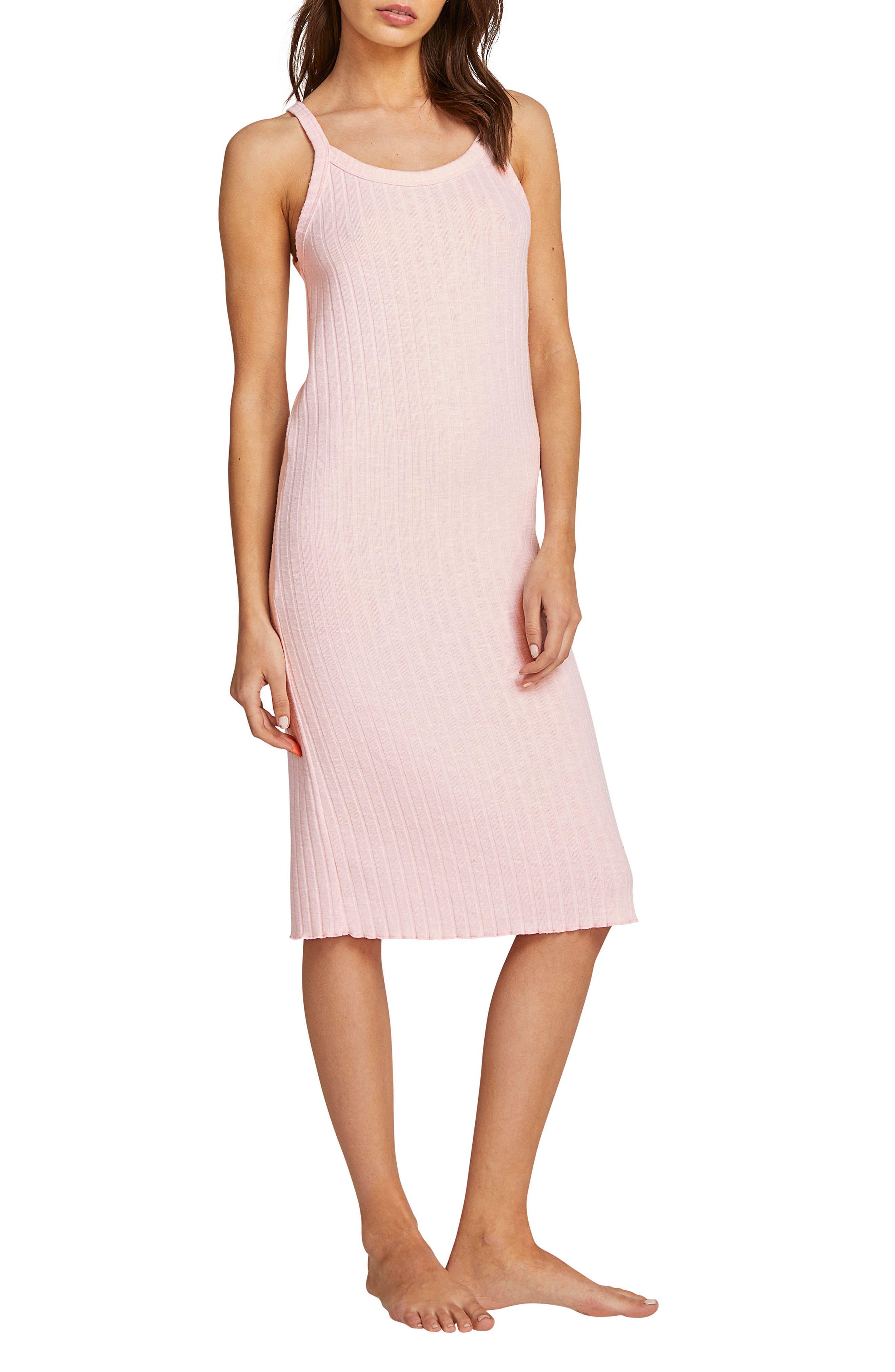 VOLCOM Lil Dress, Main, color, PINK BLUSH