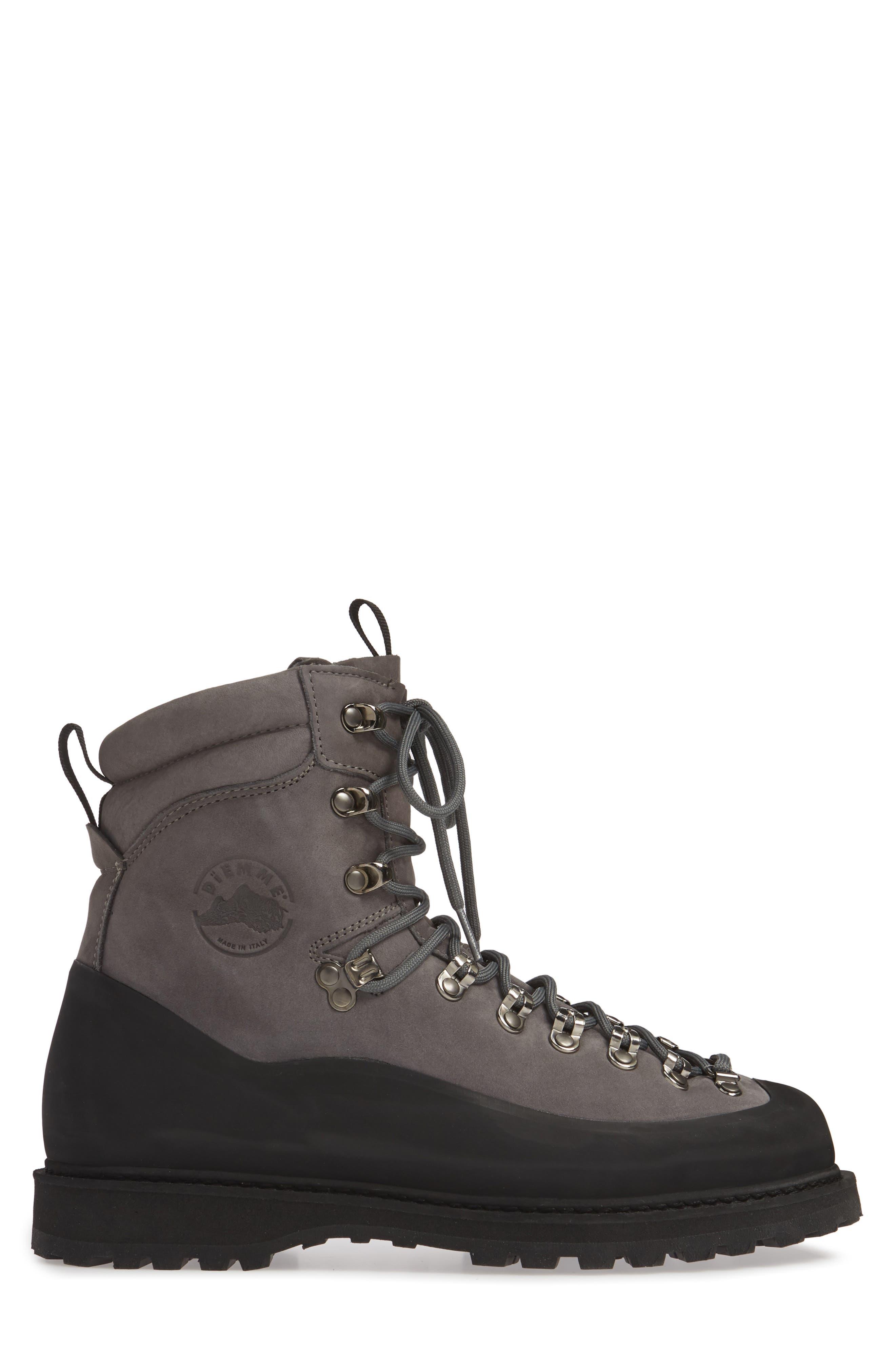DIEMME Everest Nubuck Boot, Main, color, DARK GREY