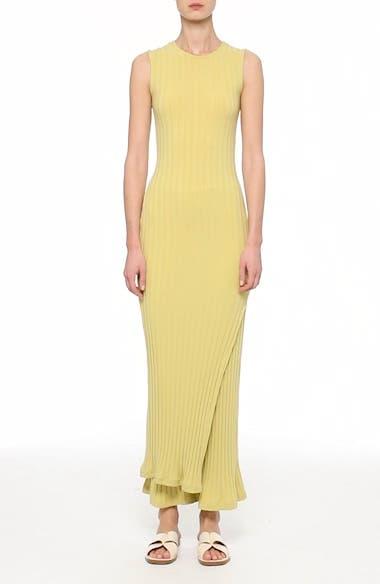 Tali Stretch Ribbed Body-Con Dress, video thumbnail