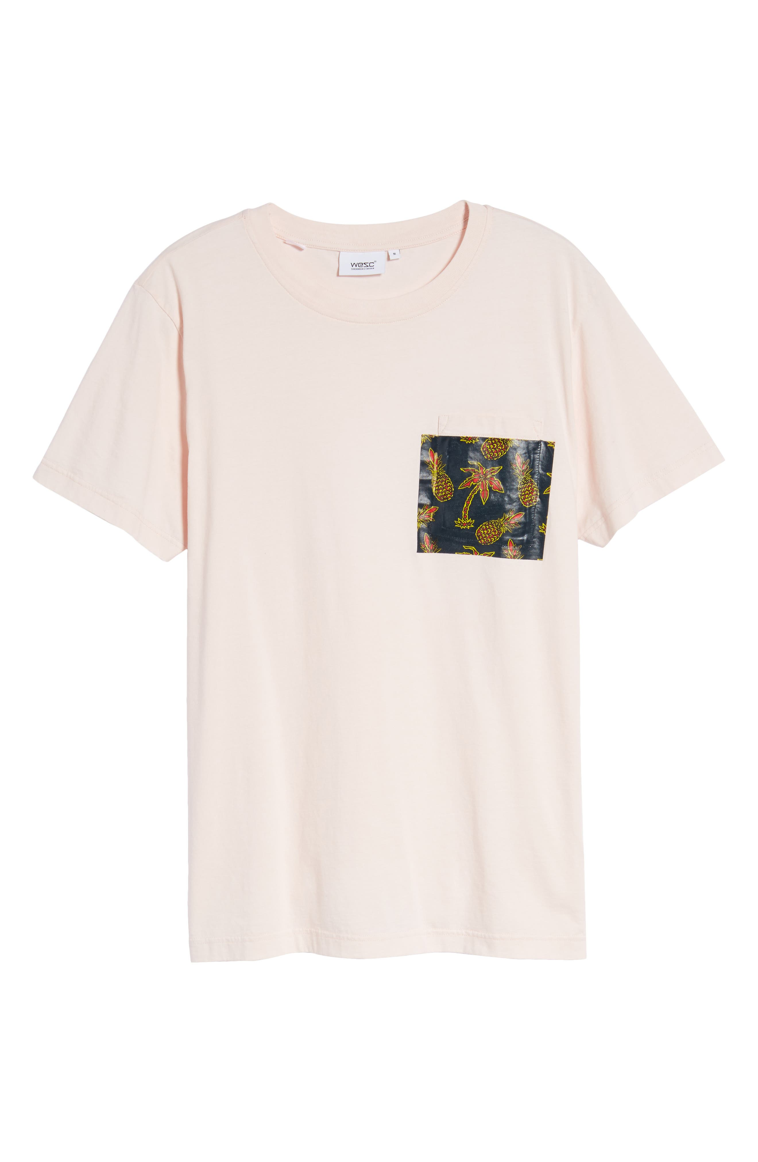 Maxwell Pineapple Pocket T-Shirt,                             Alternate thumbnail 6, color,                             672