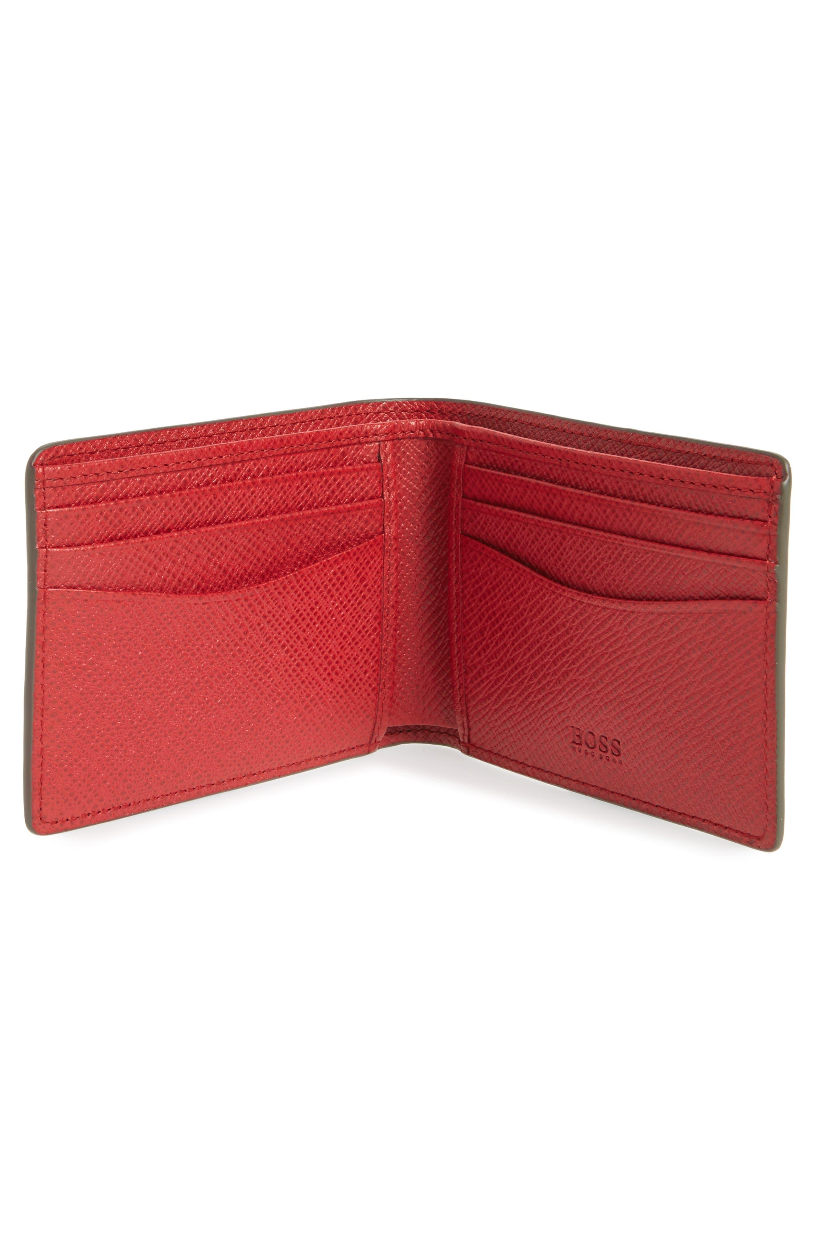 'Signature' Bifold Wallet,                             Alternate thumbnail 5, color,