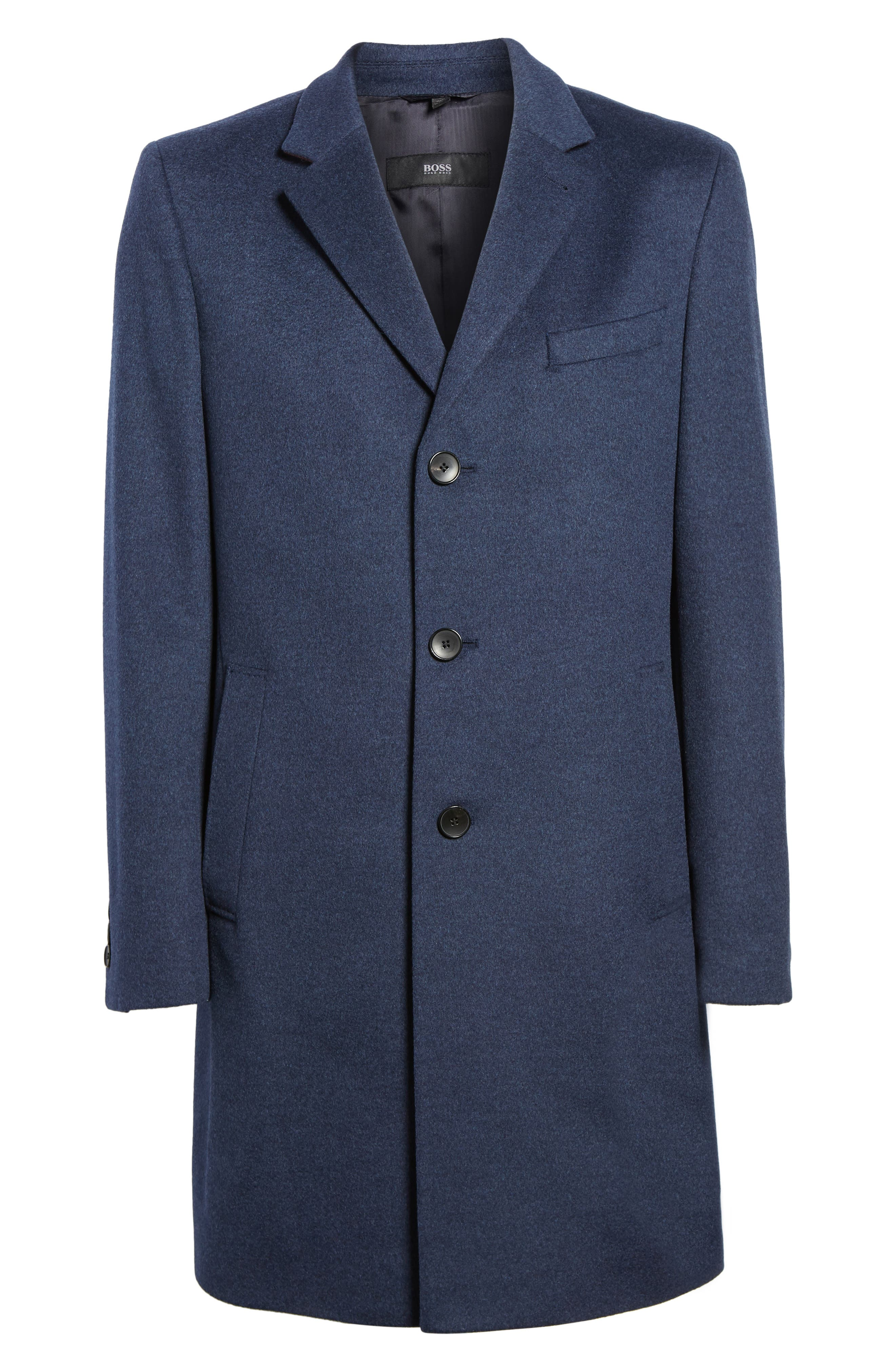 Nye Wool & Cashmere Topcoat,                             Alternate thumbnail 5, color,
