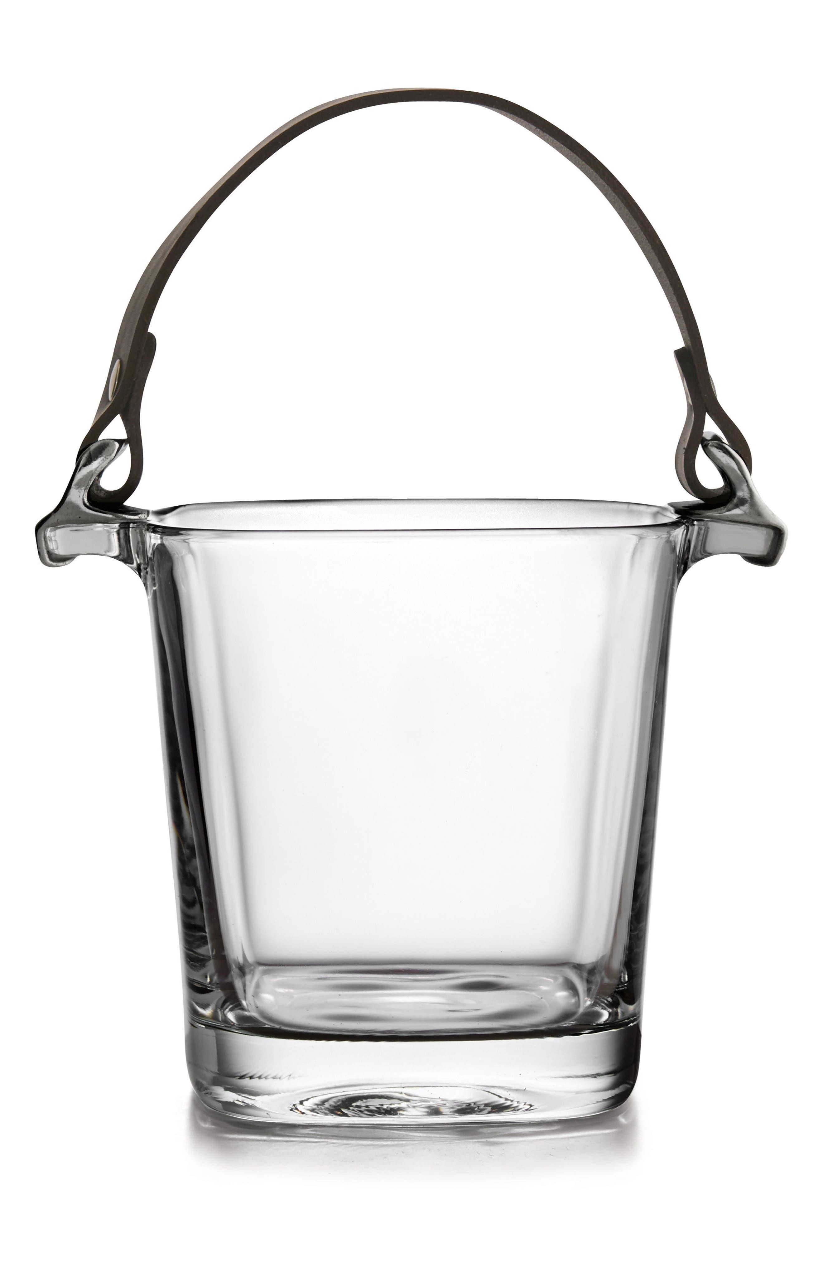 Giorgio Ice Bucket,                             Main thumbnail 1, color,                             SILVER