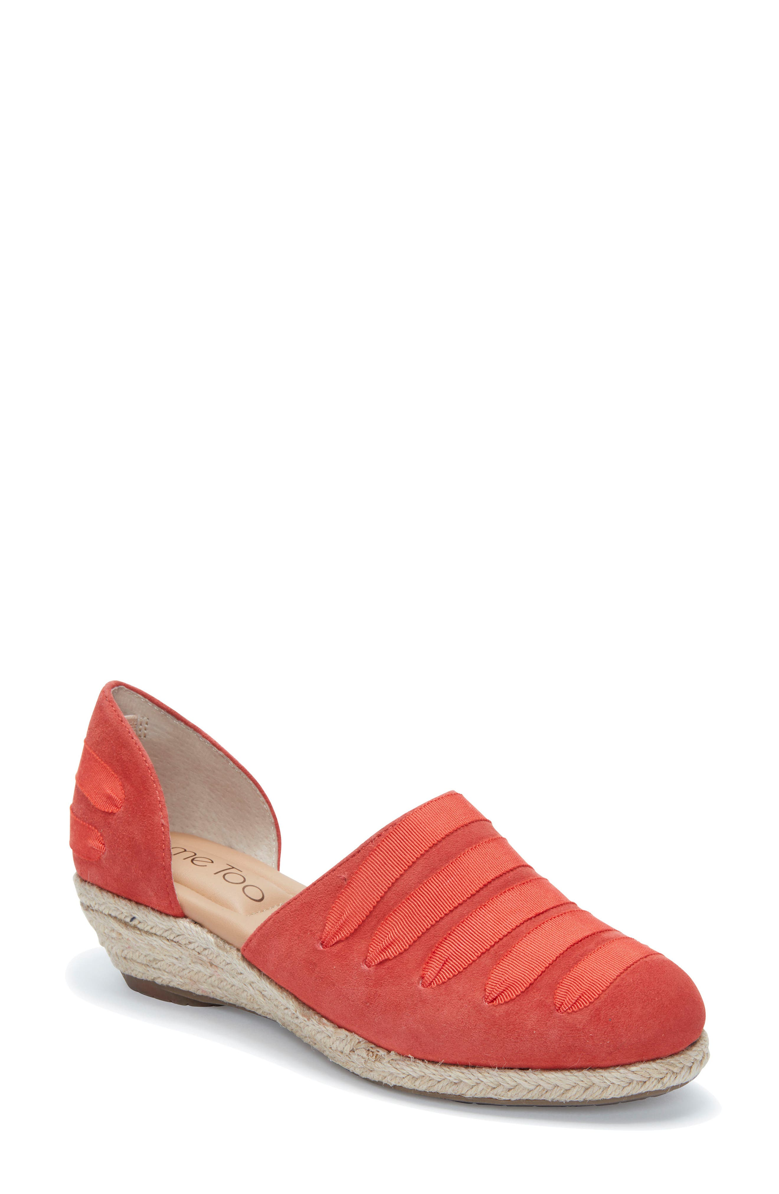 Netta Espadrille Wedge,                             Main thumbnail 4, color,