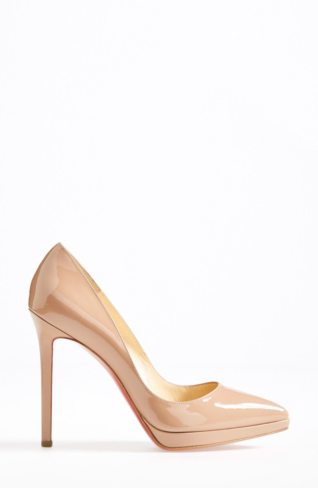 'Pigalle Plato' Pointy Toe Pump,                             Alternate thumbnail 4, color,
