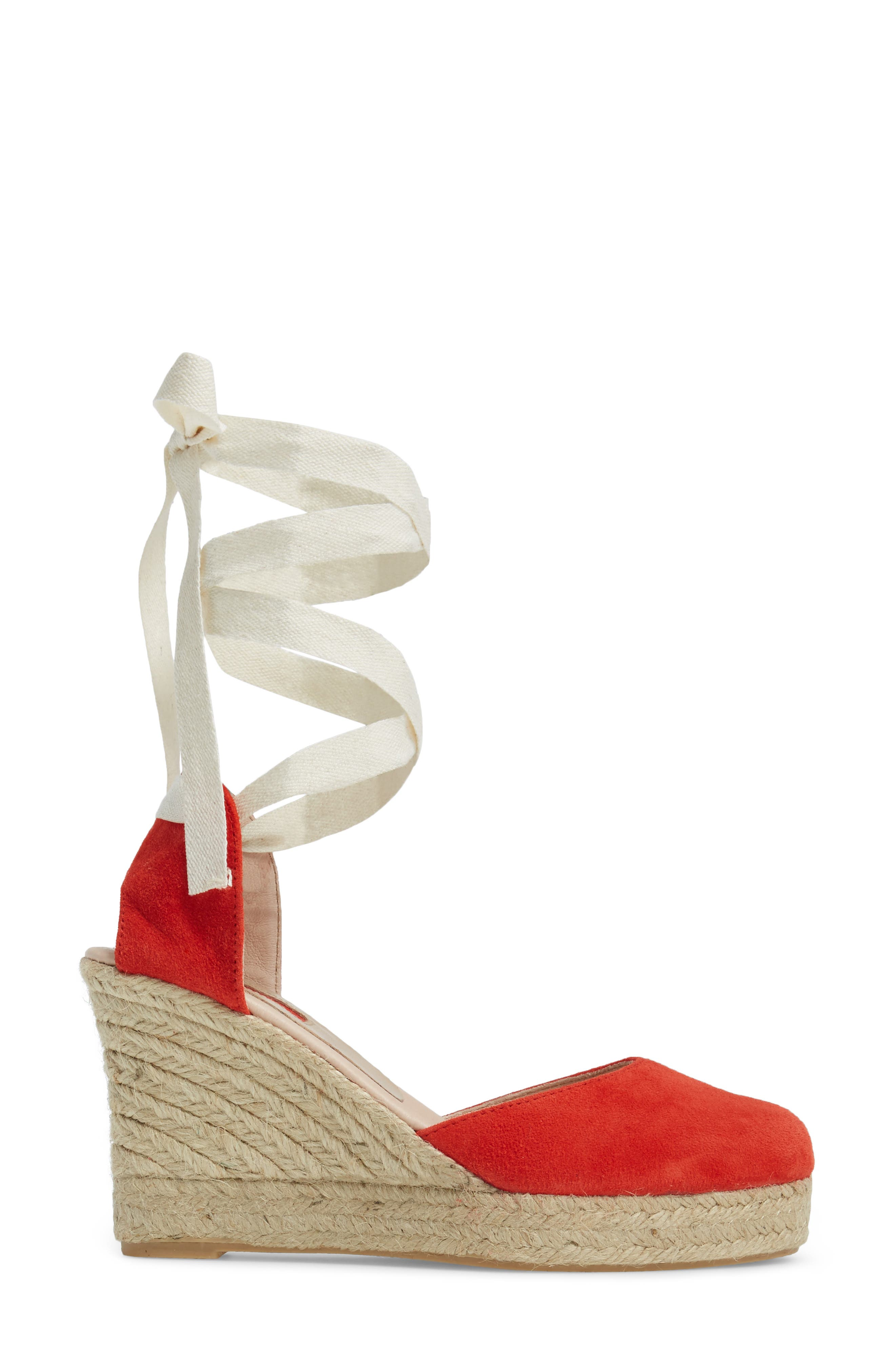 Warmth Espadrille Wedge,                             Alternate thumbnail 6, color,