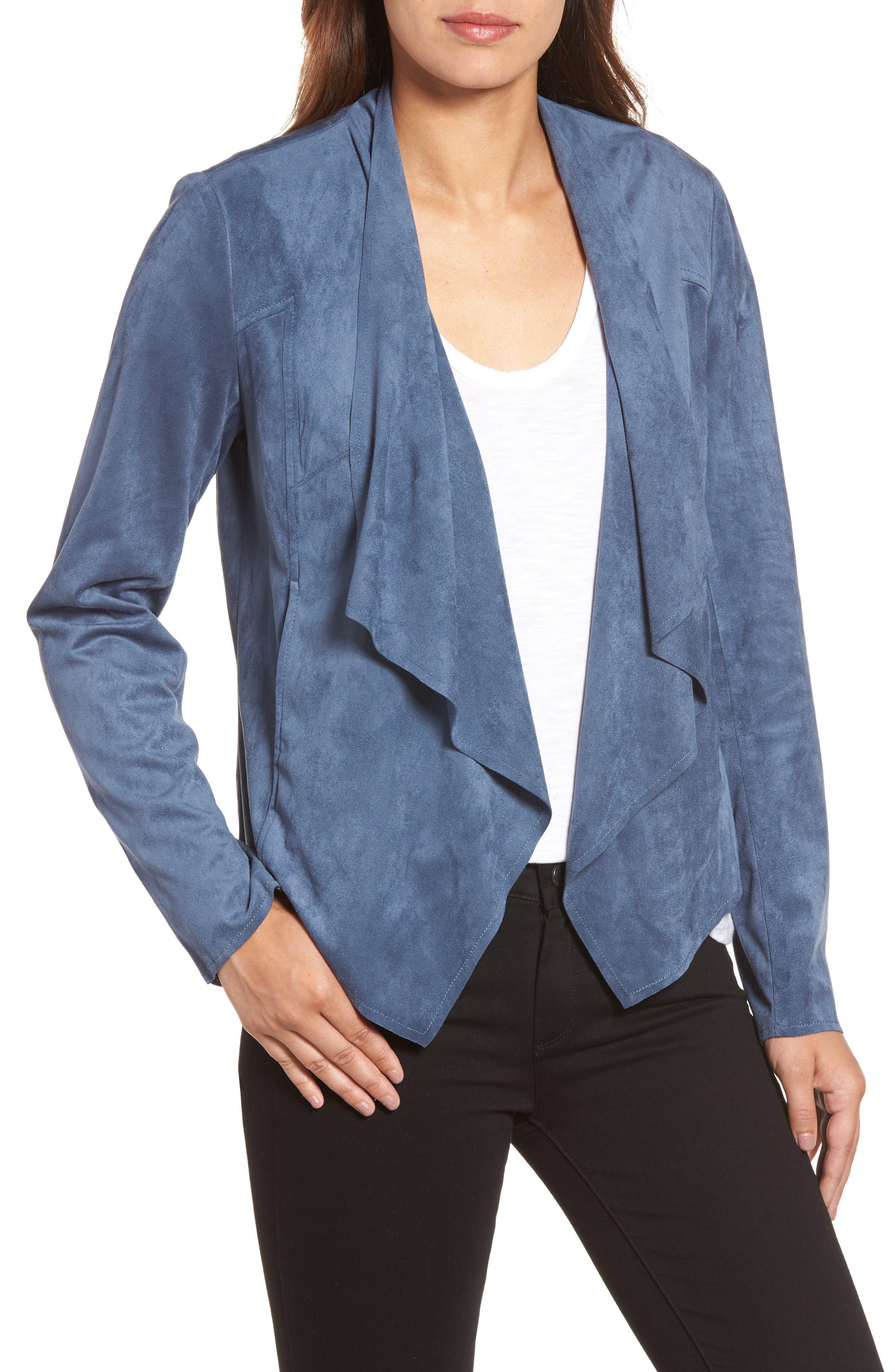 Tayanita Faux Suede Jacket,                             Main thumbnail 11, color,