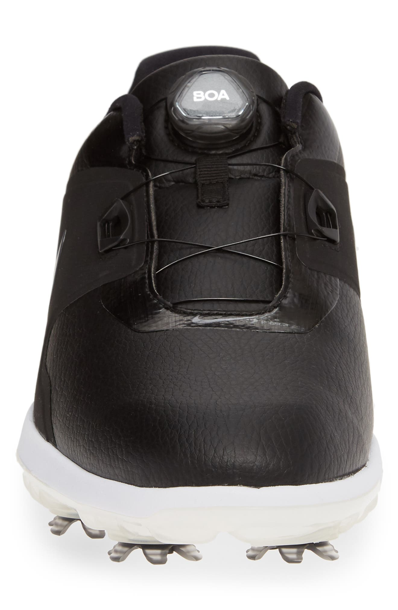 NIKE,                             Vapor Pro BOA Waterproof Golf Shoe,                             Alternate thumbnail 4, color,                             BLACK/ COOL GREY/ WHITE