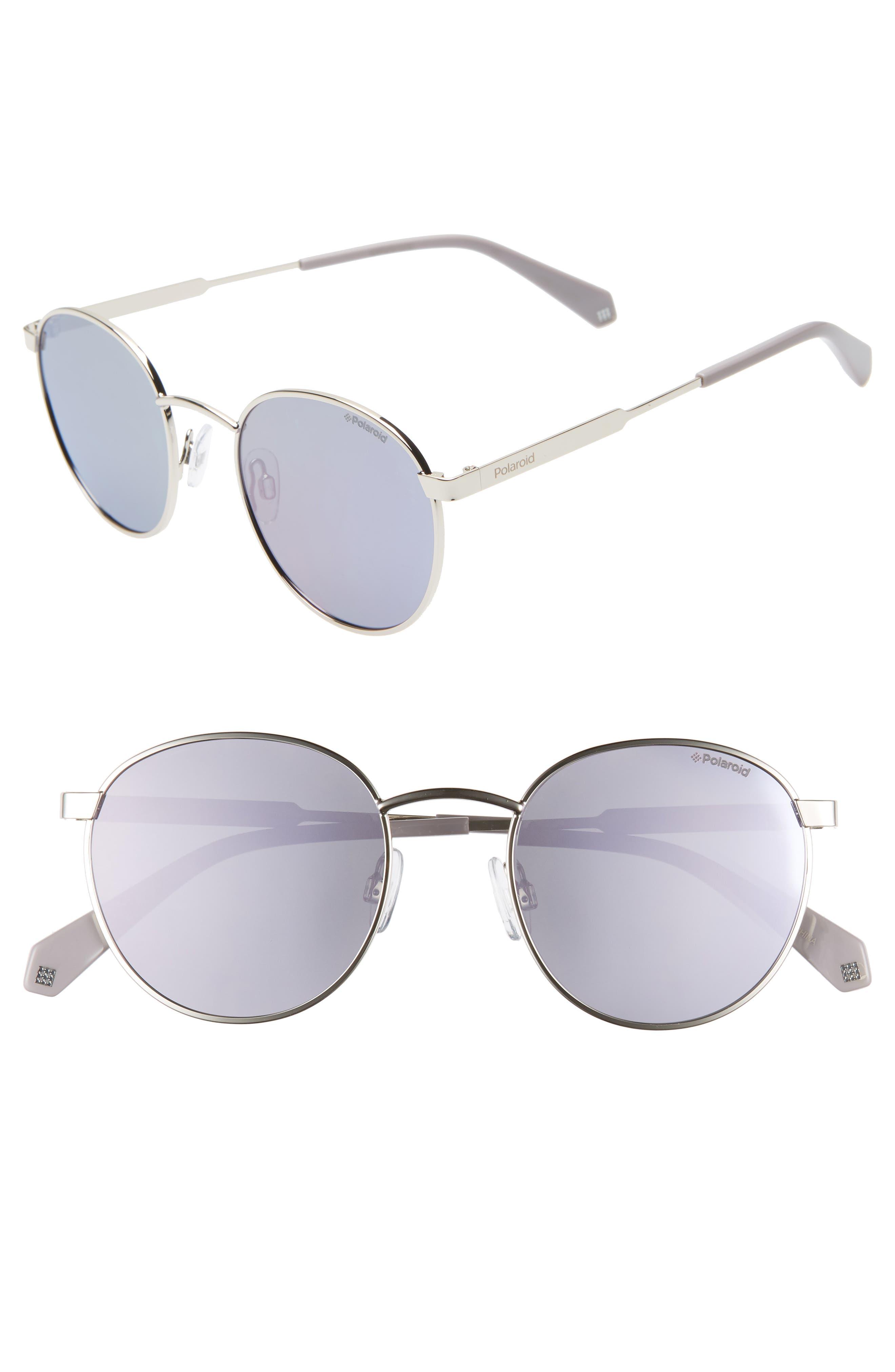 Polaroid 51Mm Polarized Round Sunglasses -