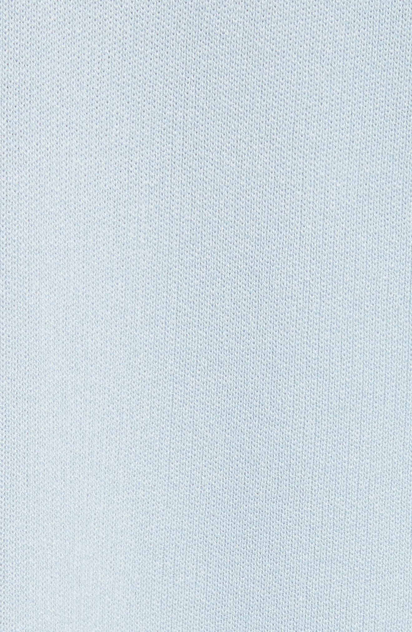 Silk & Cotton Blend Sweater,                             Alternate thumbnail 5, color,                             450