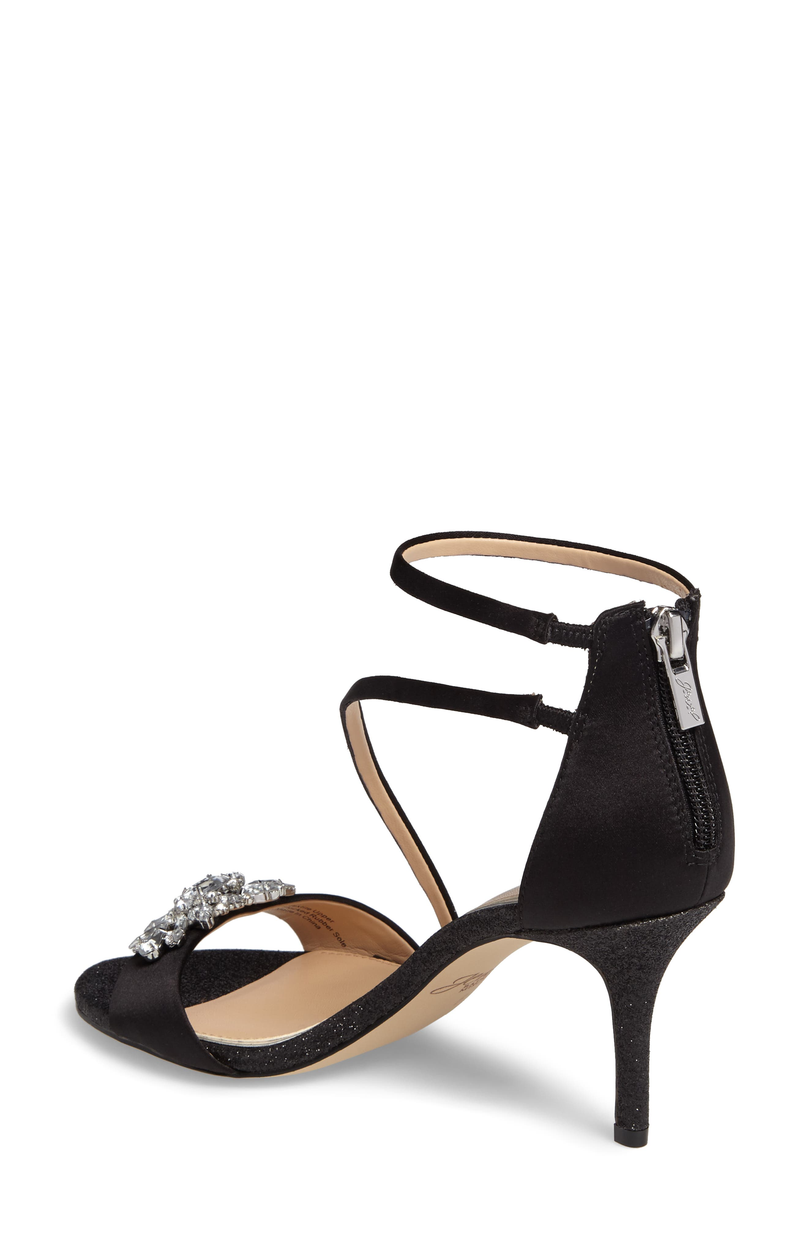 Leighton Embellished Strappy Sandal,                             Alternate thumbnail 2, color,                             015