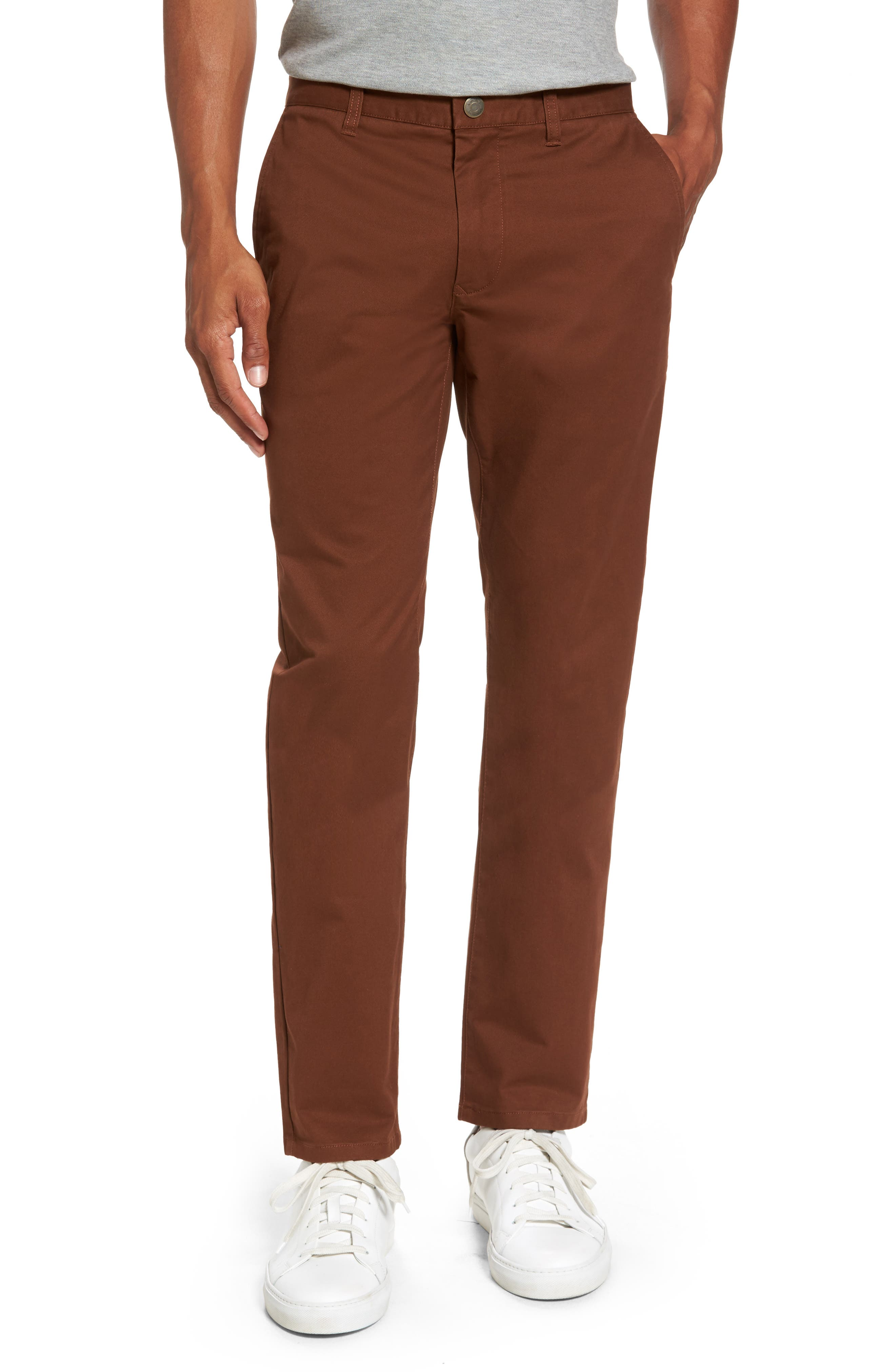 Tailored Fit Washed Stretch Cotton Chinos,                             Main thumbnail 2, color,