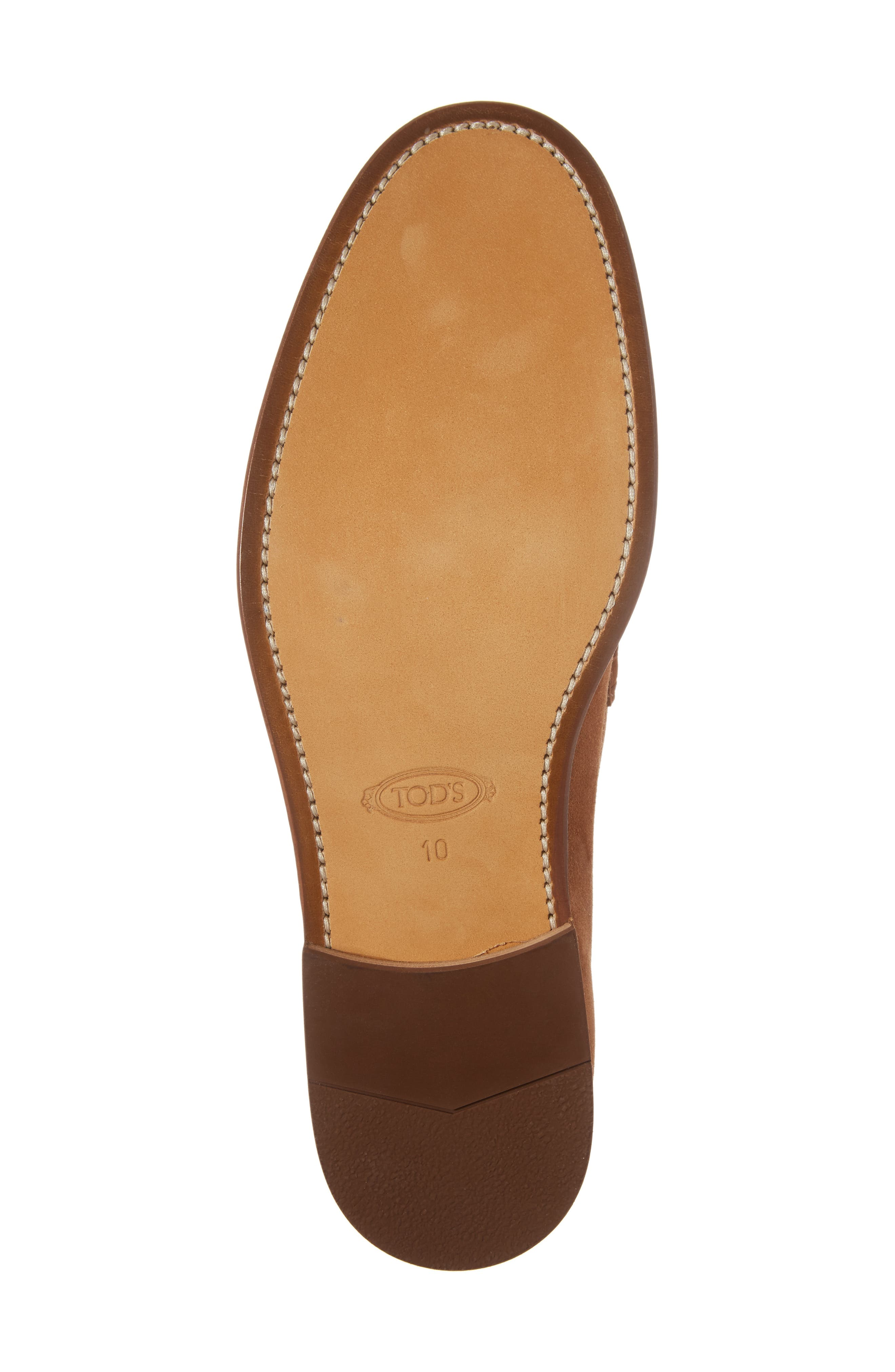 Suede Penny Loafer,                             Alternate thumbnail 6, color,                             215