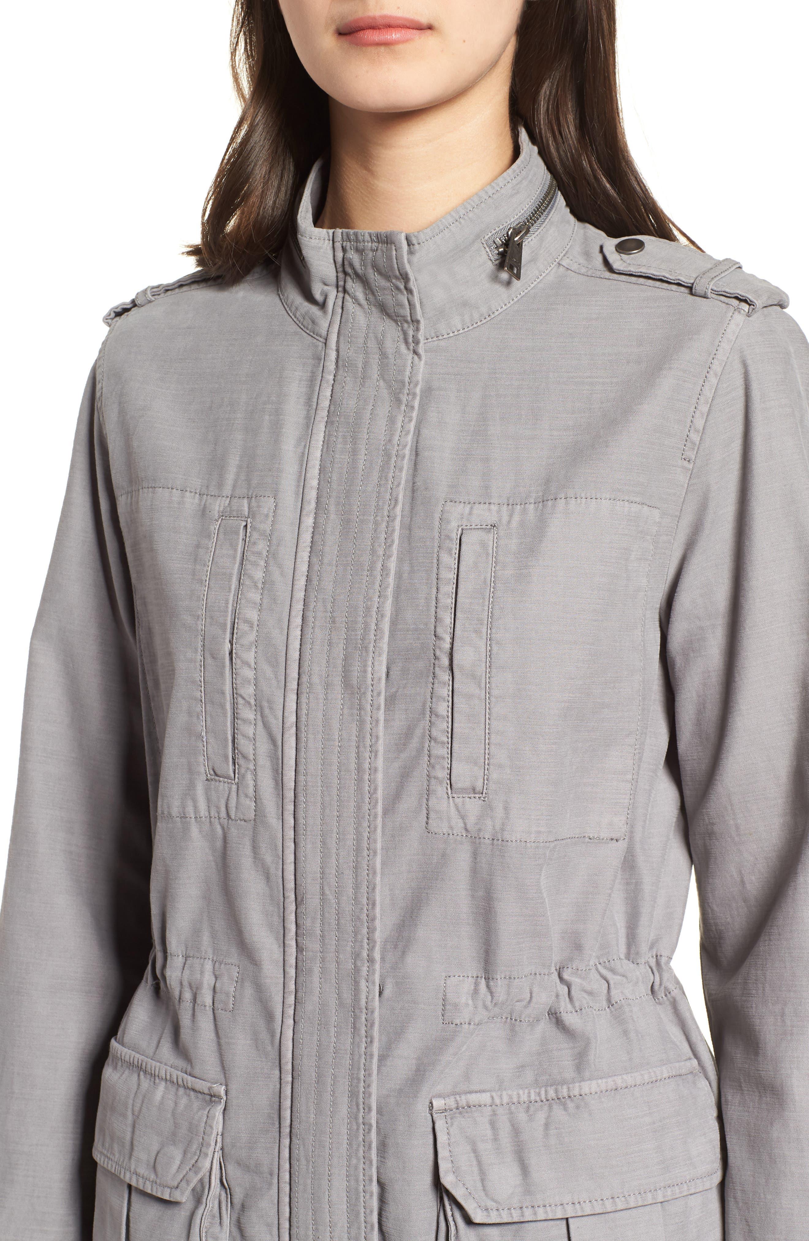 Cotton 4-Pocket Jacket,                             Alternate thumbnail 4, color,                             030