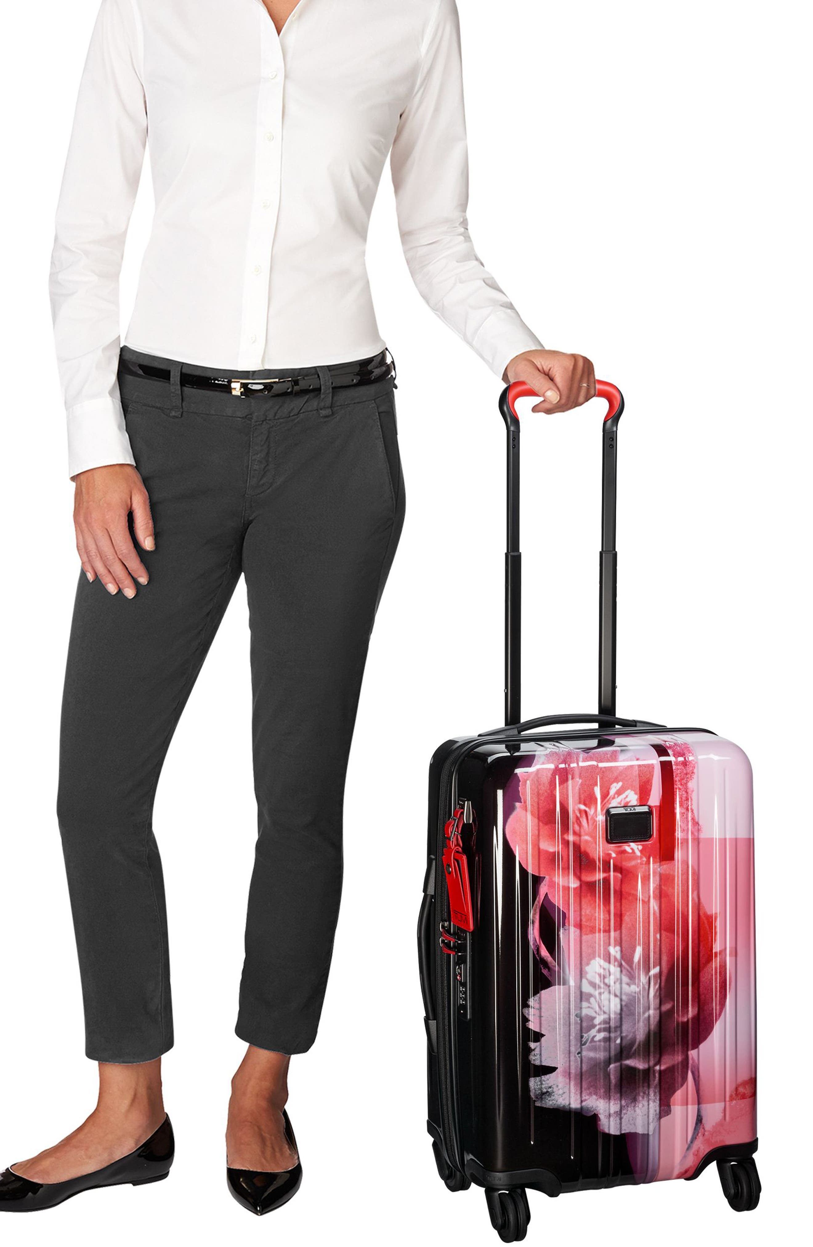 V3 International 22-Inch Expandable Wheeled Carry-On,                             Alternate thumbnail 66, color,