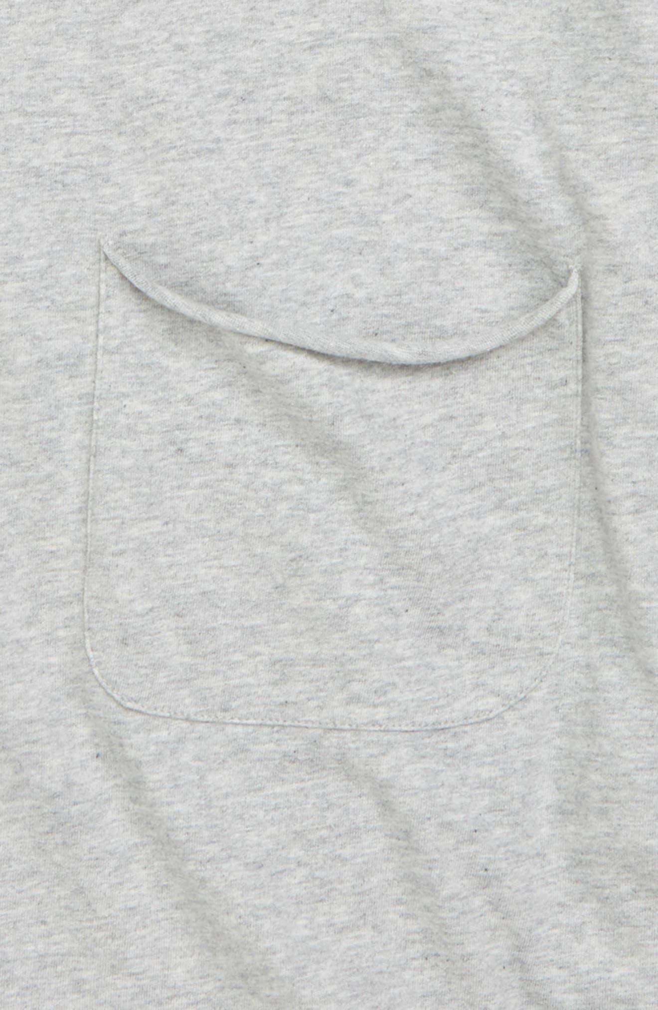Raw Edge T-Shirt,                             Alternate thumbnail 2, color,                             050