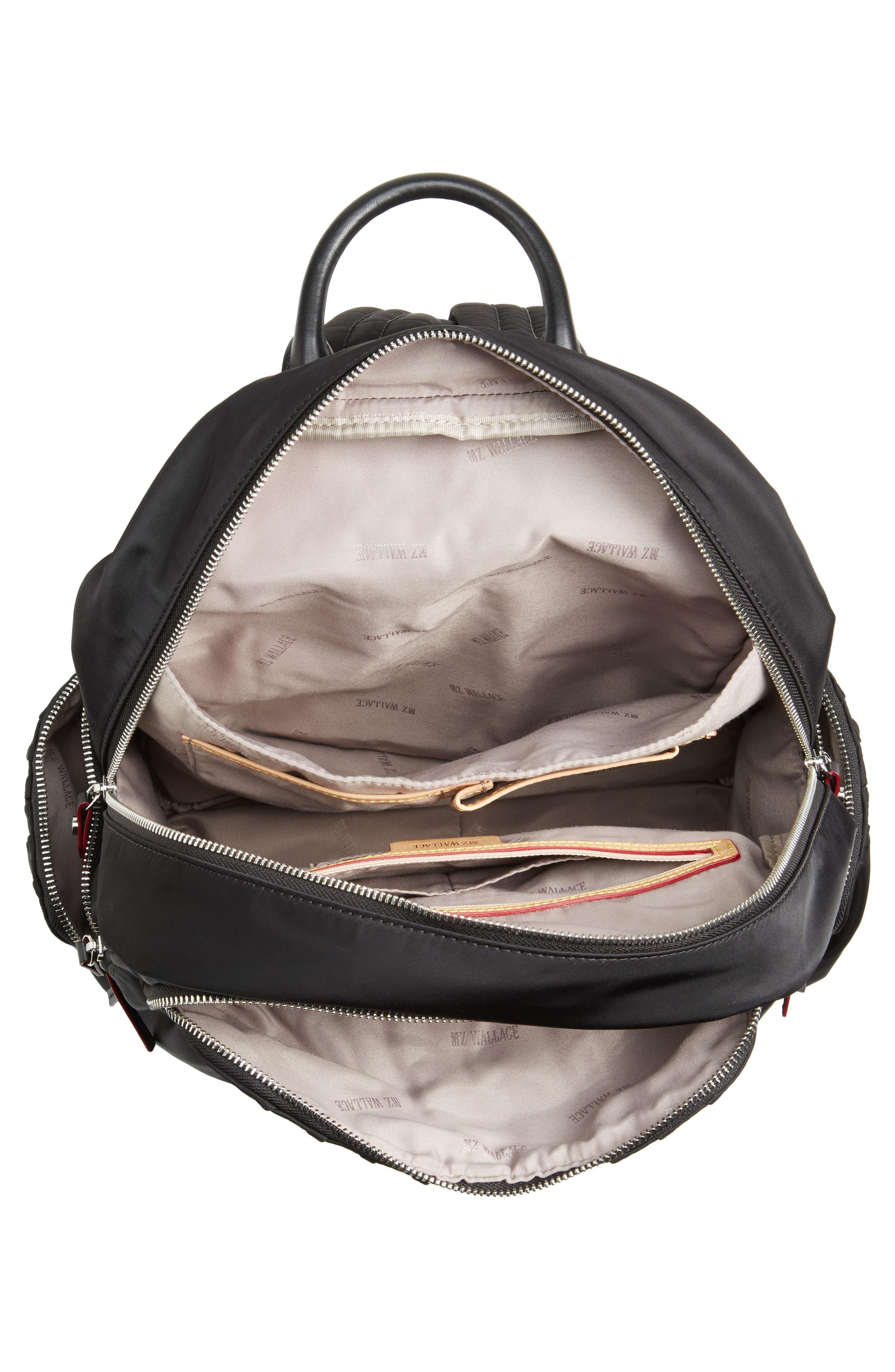 Madelyn Bedford Nylon Backpack,                             Alternate thumbnail 4, color,