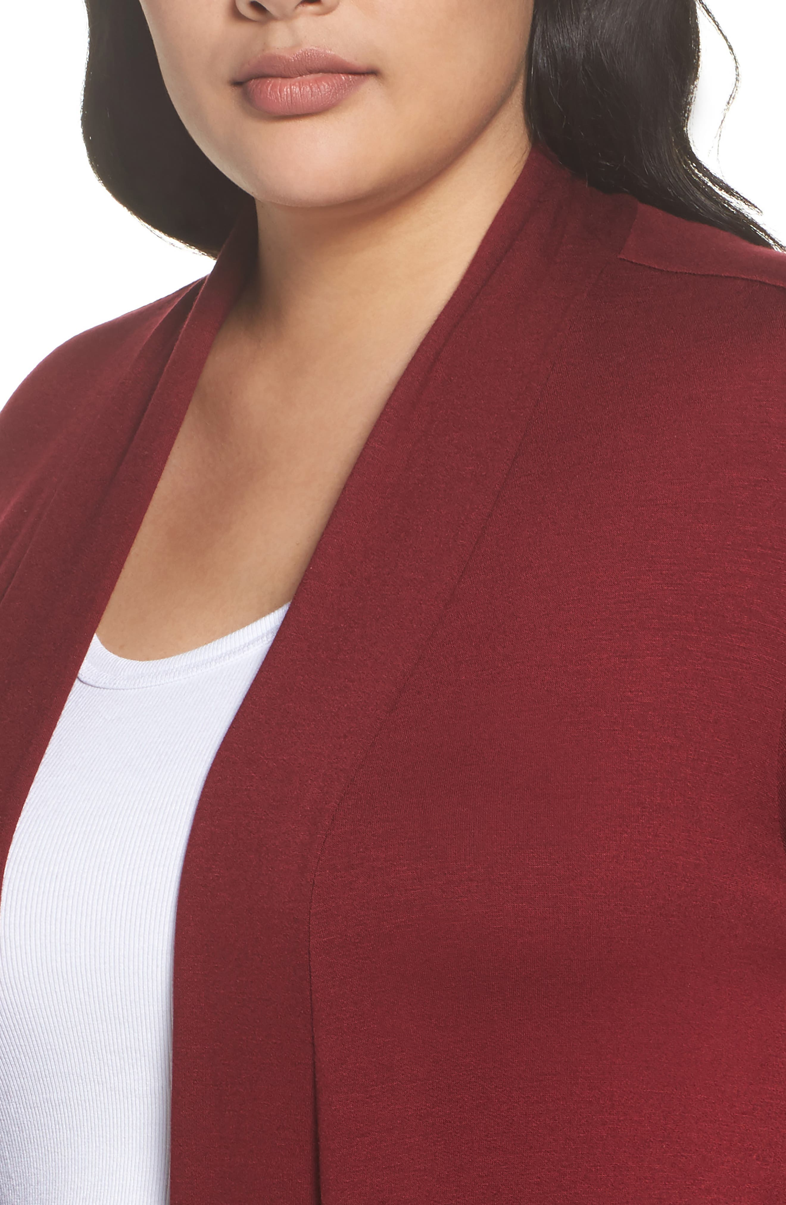 Two-Pocket Stretch Cardigan,                             Alternate thumbnail 12, color,