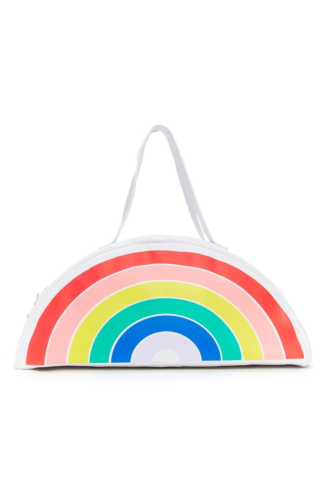 Rainbow Cooler Bag,                             Alternate thumbnail 2, color,                             100