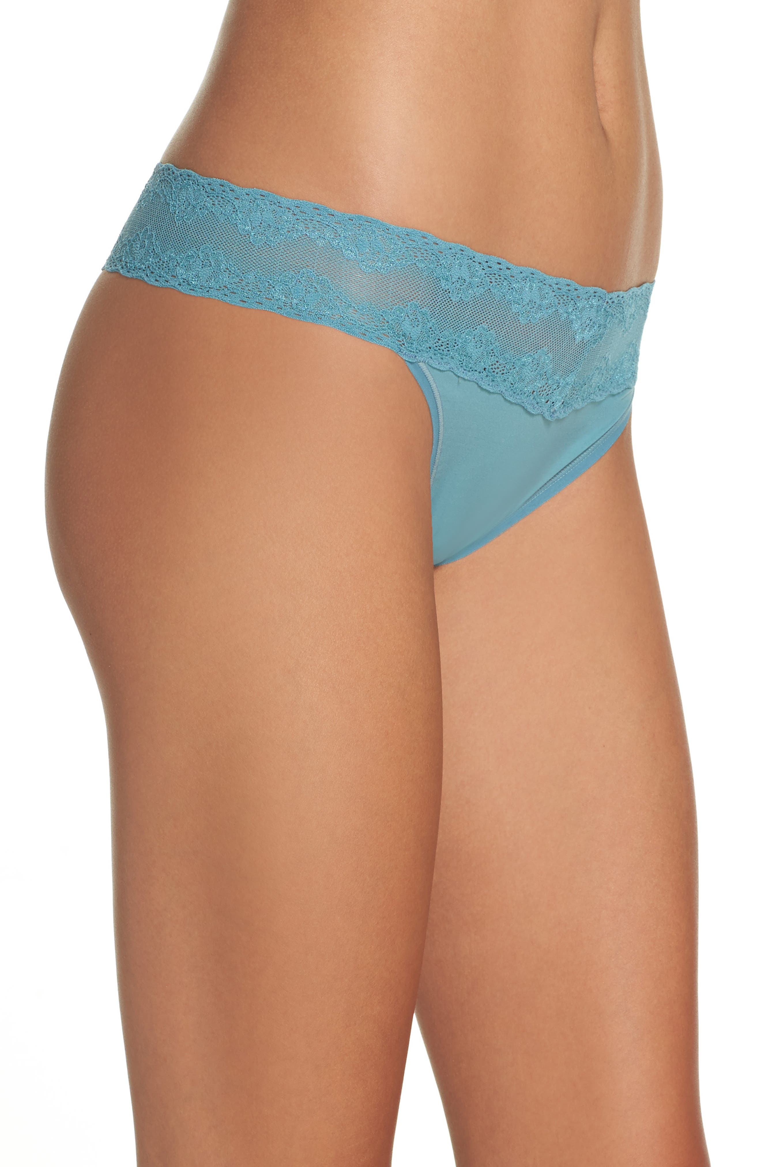 Bliss Perfection Thong,                             Alternate thumbnail 266, color,