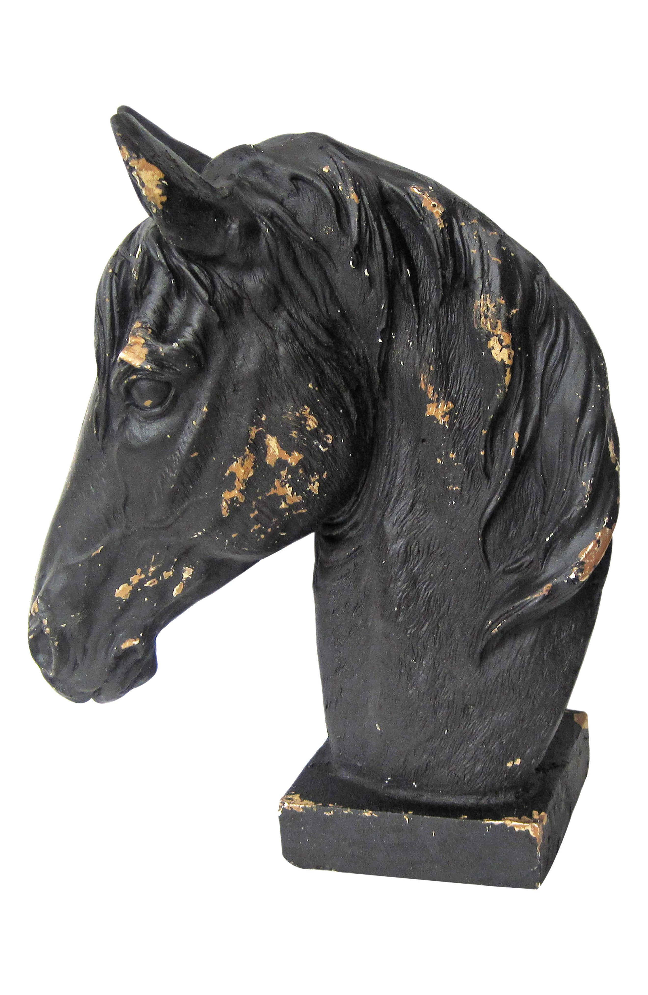 Horse Statue,                             Main thumbnail 1, color,                             001