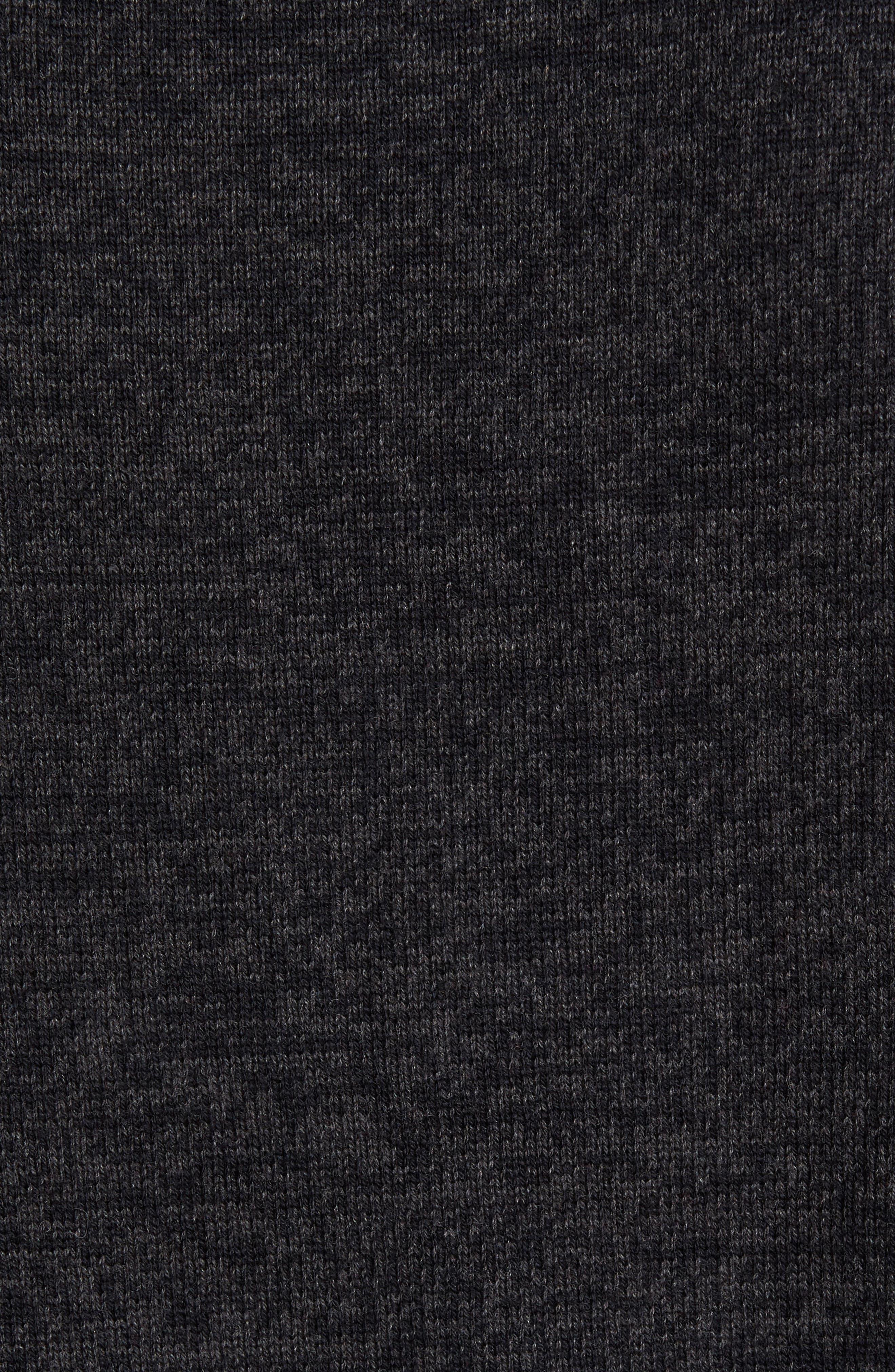 Cotton & Cashmere Roll Neck Sweater,                             Alternate thumbnail 5, color,                             021