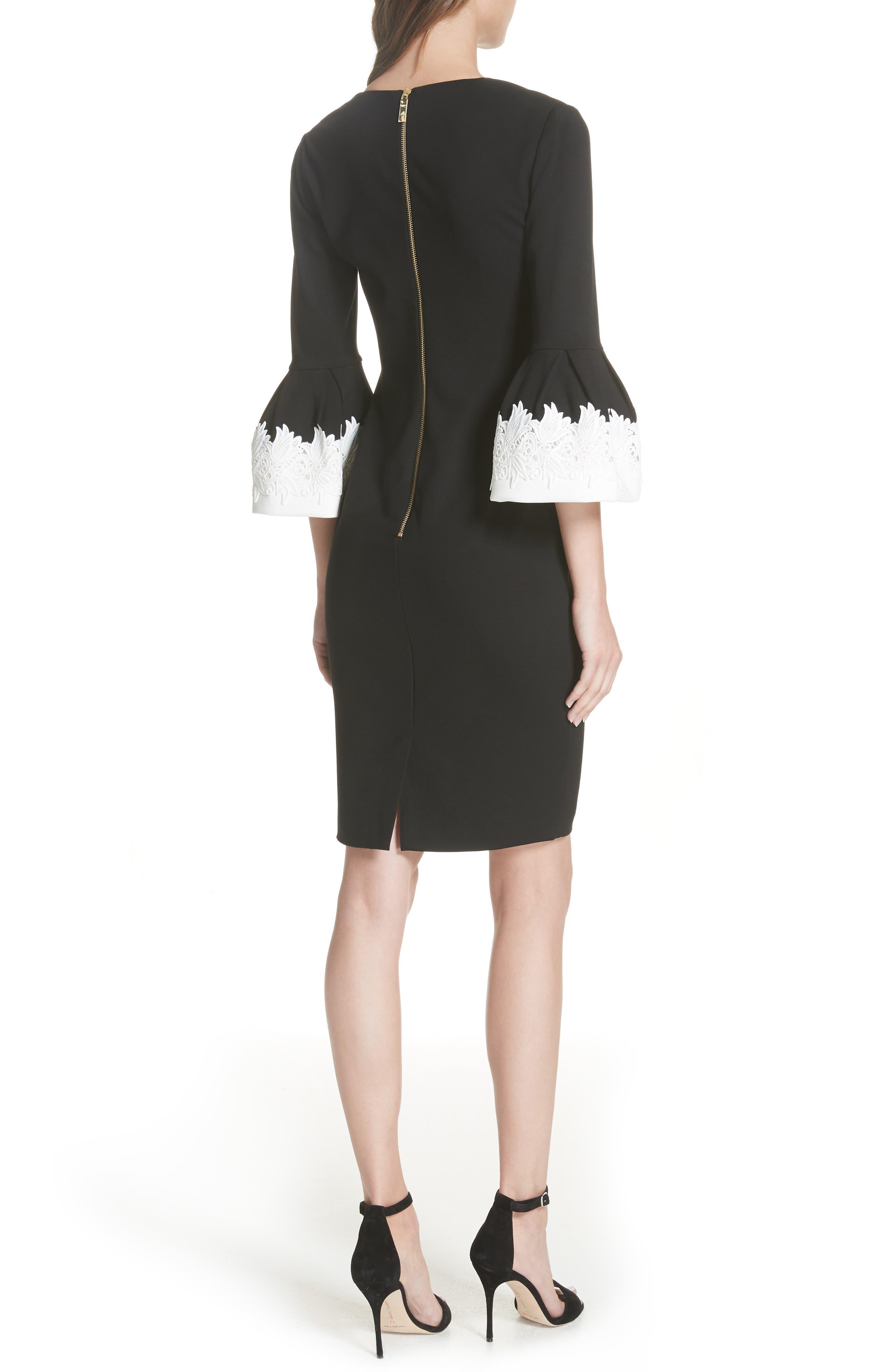 Rastrel Sheath Dress,                             Alternate thumbnail 2, color,                             001