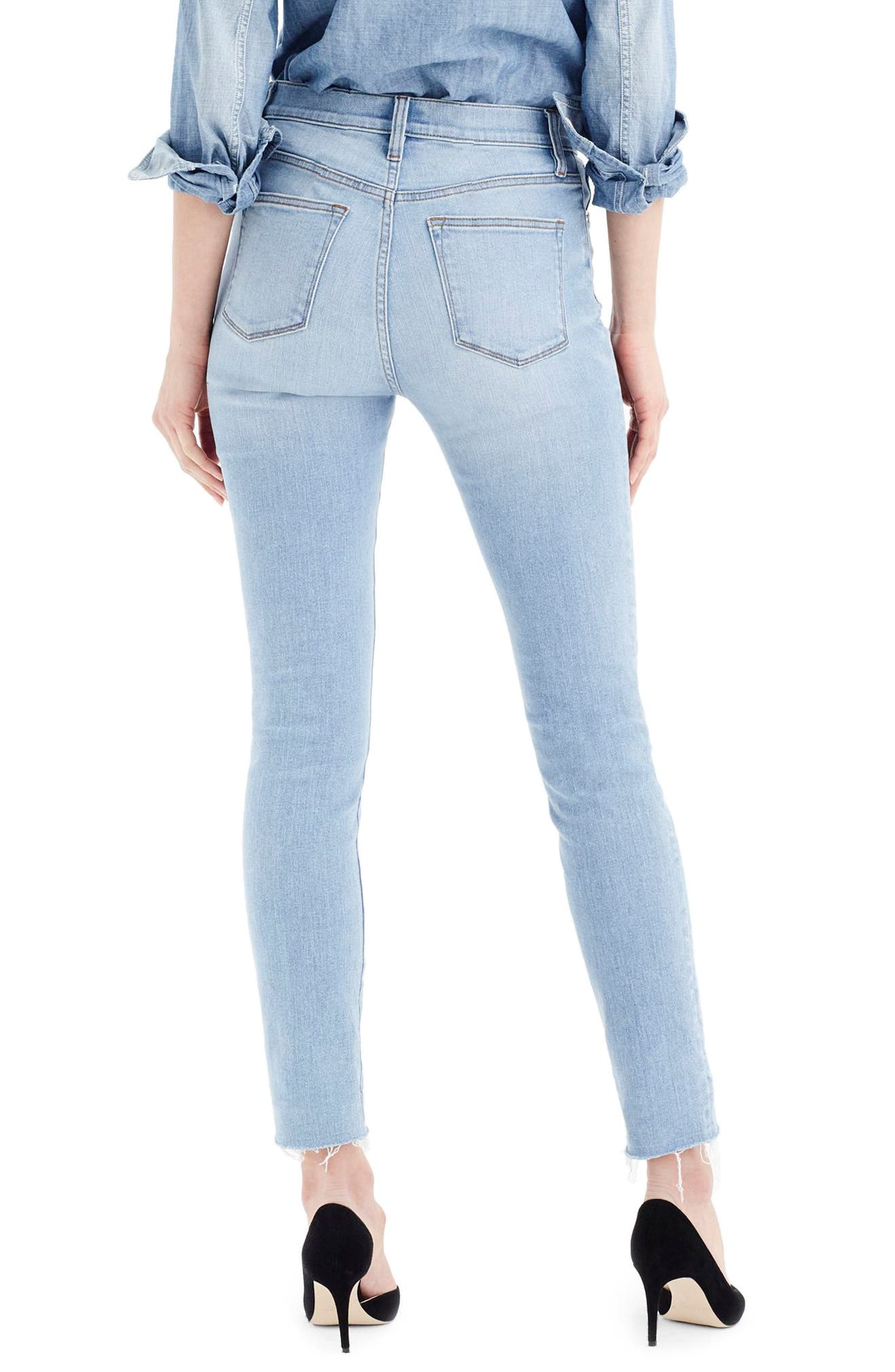 High Rise Toothpick Jeans,                             Alternate thumbnail 2, color,                             400