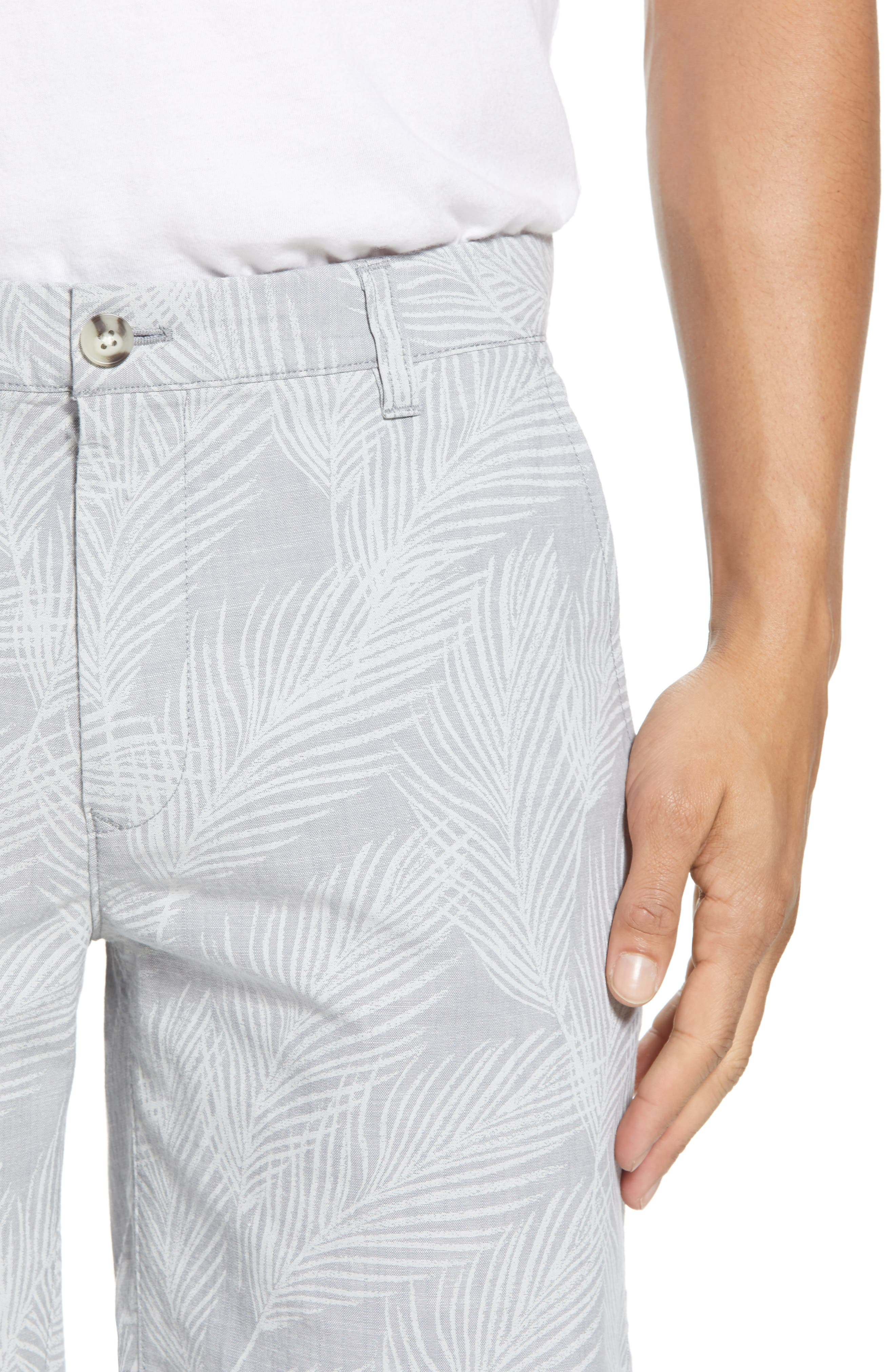 Print Stretch Chino Shorts,                             Alternate thumbnail 4, color,                             020