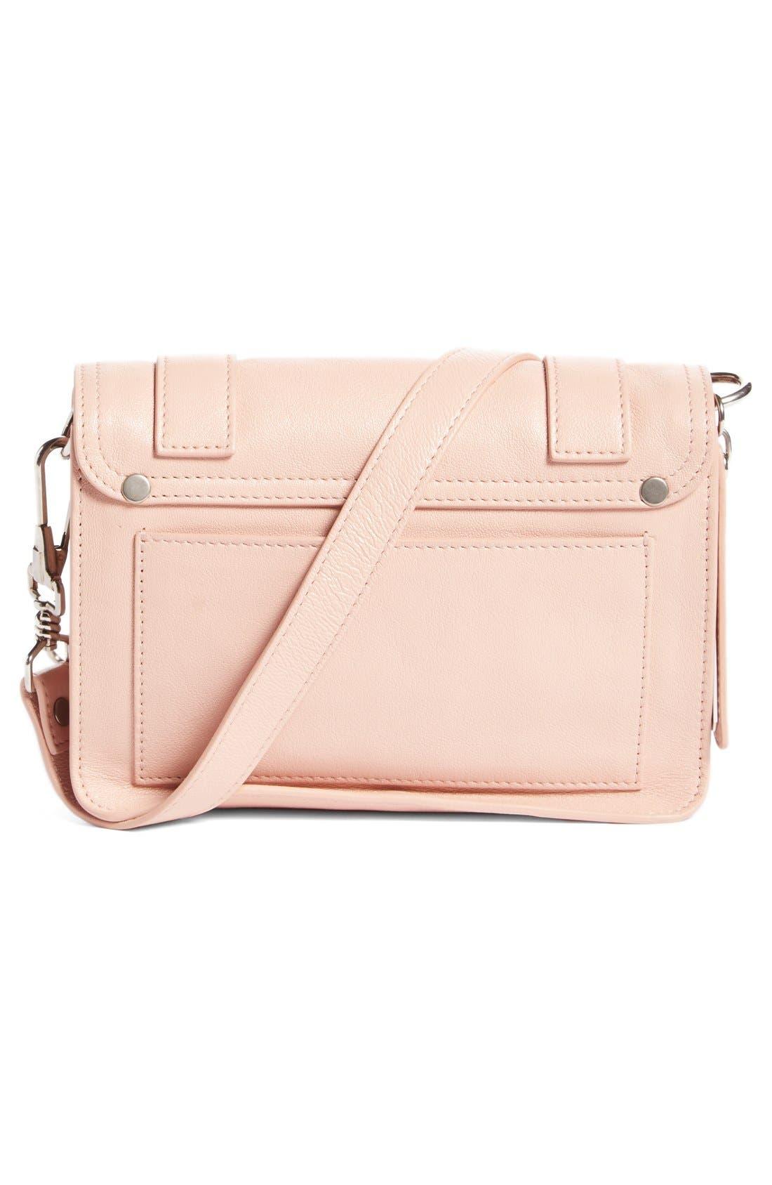 'Mini PS1' Lambskin Leather Crossbody Bag,                             Alternate thumbnail 5, color,