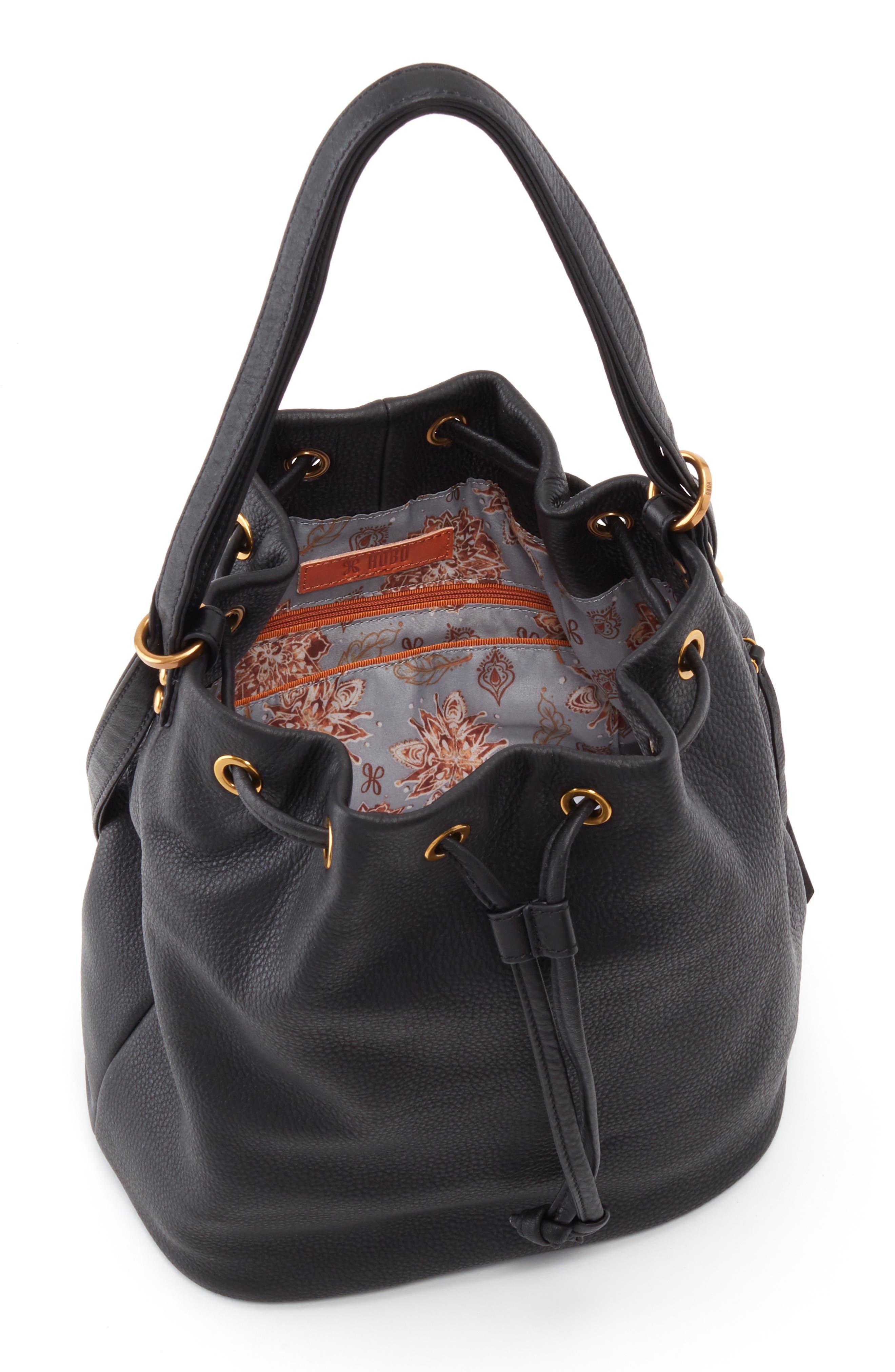 Brandish Convertible Bucket Bag,                             Alternate thumbnail 3, color,                             001