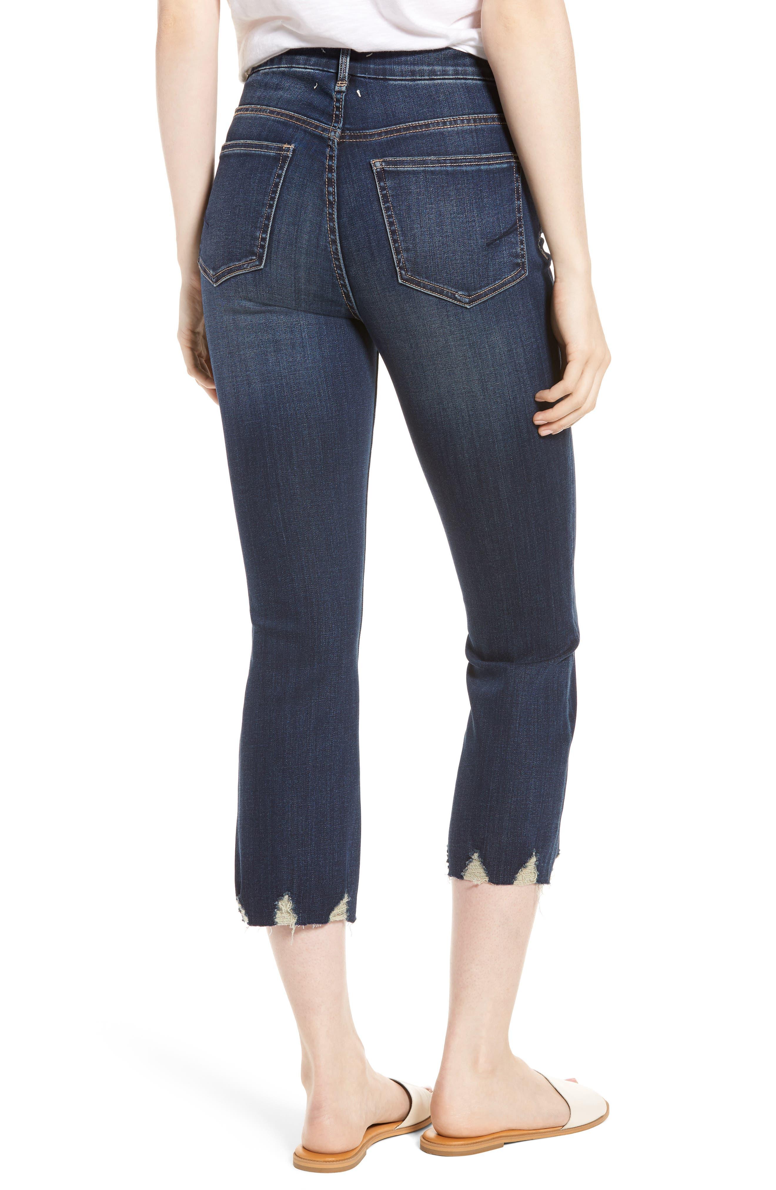 Palo Double Bite Crop Jeans,                             Alternate thumbnail 2, color,