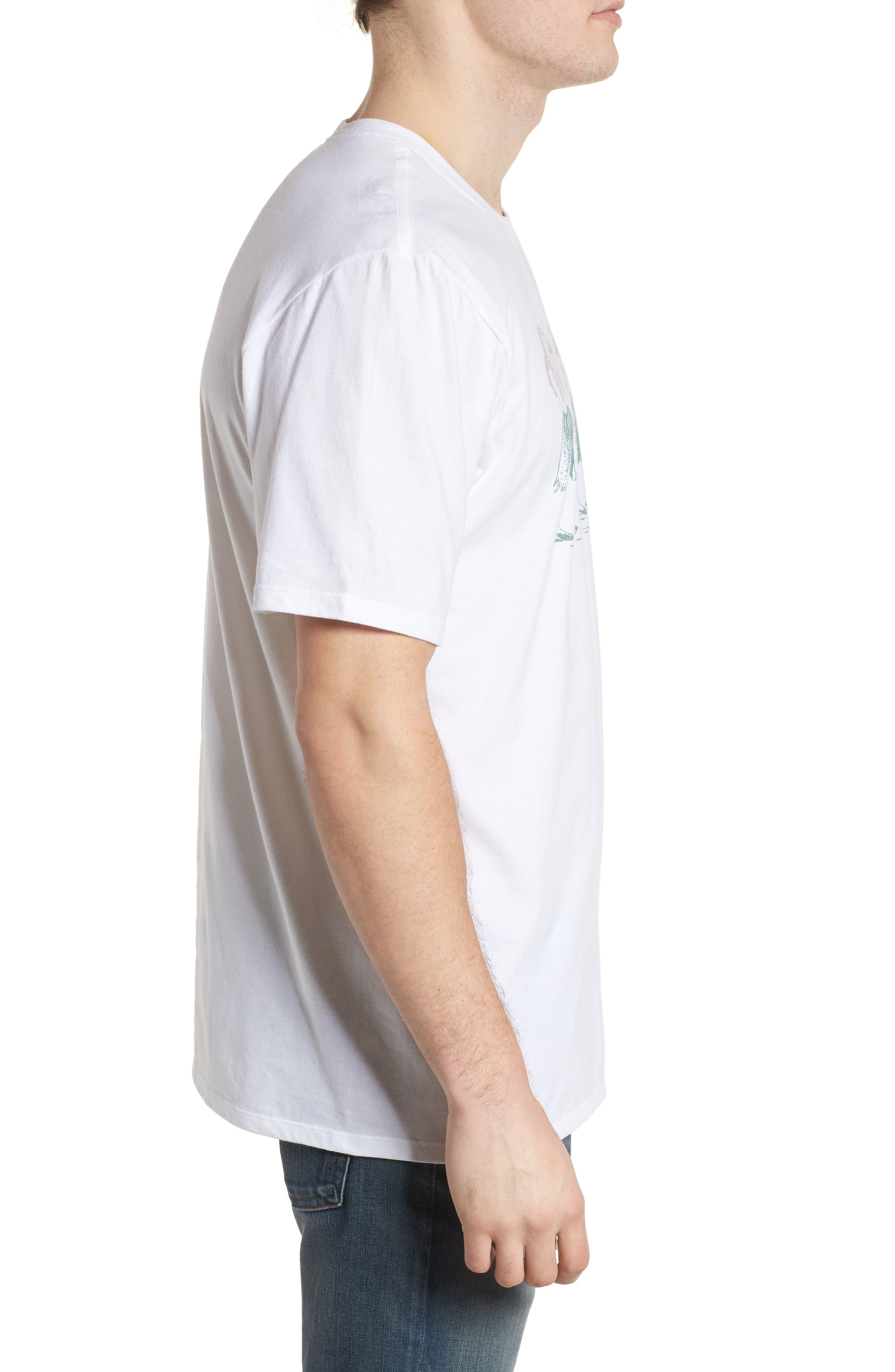 Hula T-Shirt,                             Alternate thumbnail 3, color,                             WHITE