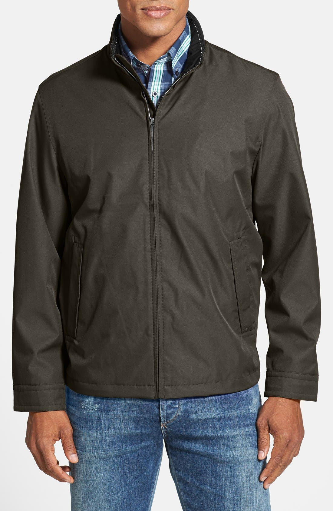 Waterproof & Windproof Bomber,                             Main thumbnail 4, color,