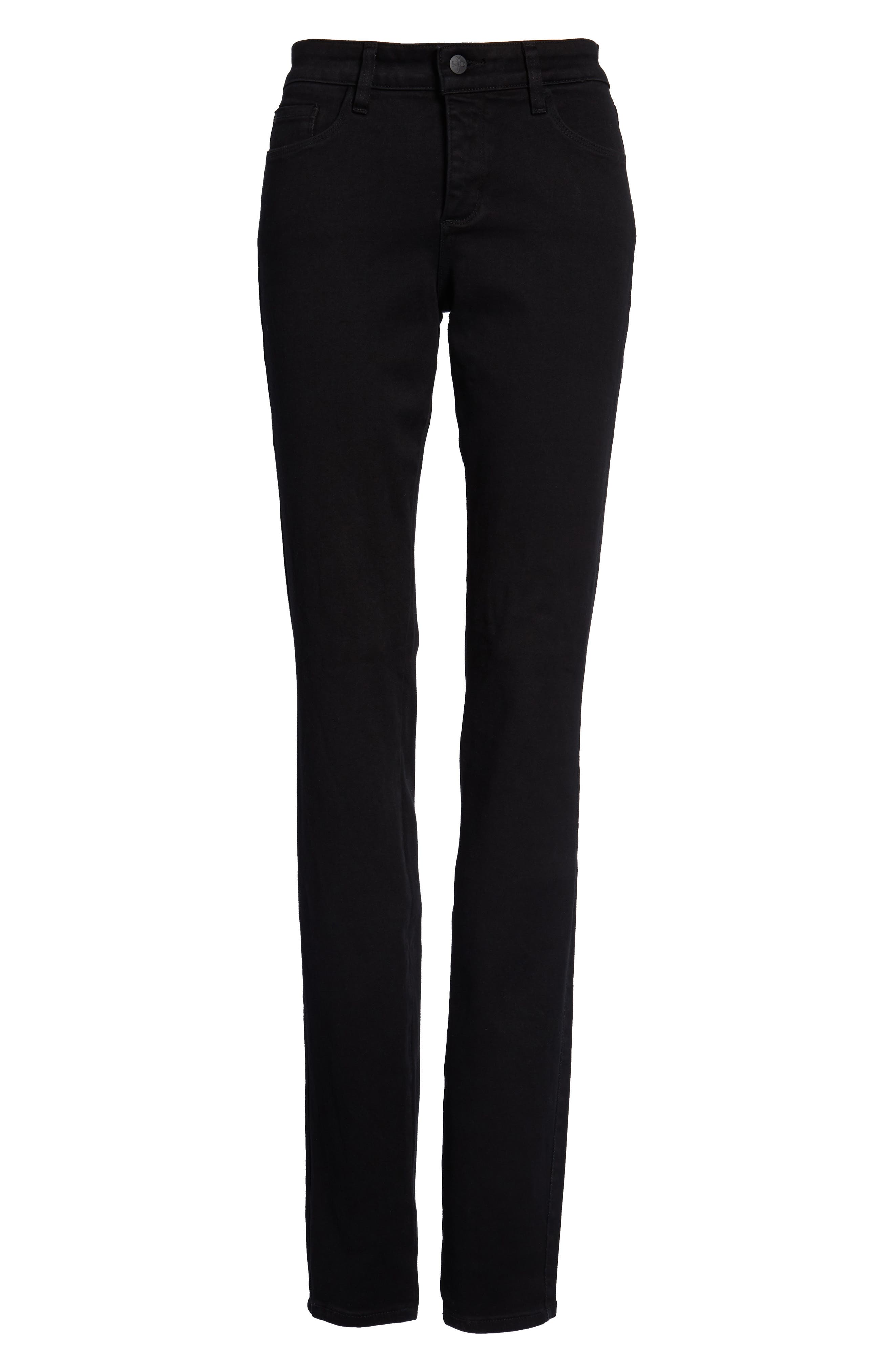 Alina Stretch Skinny Jeans,                             Alternate thumbnail 7, color,                             001
