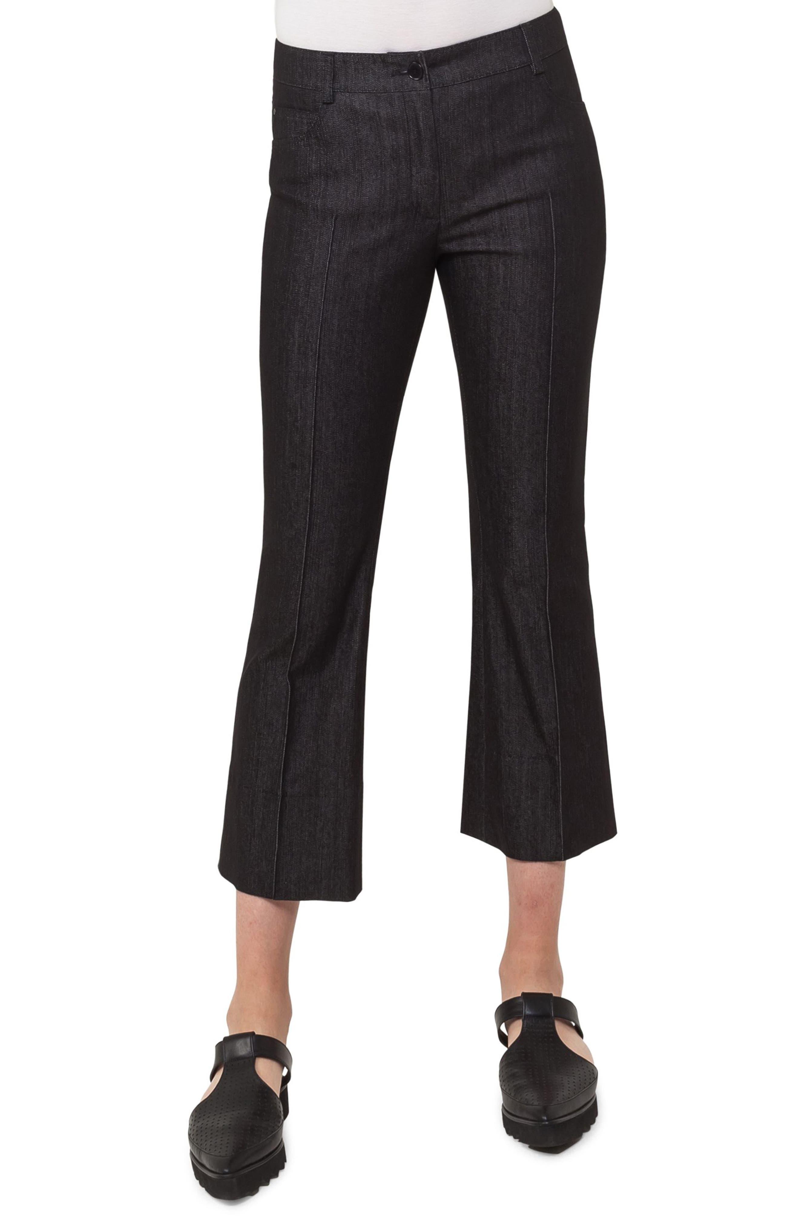 Manou Crop Flare Jeans,                         Main,                         color, 009