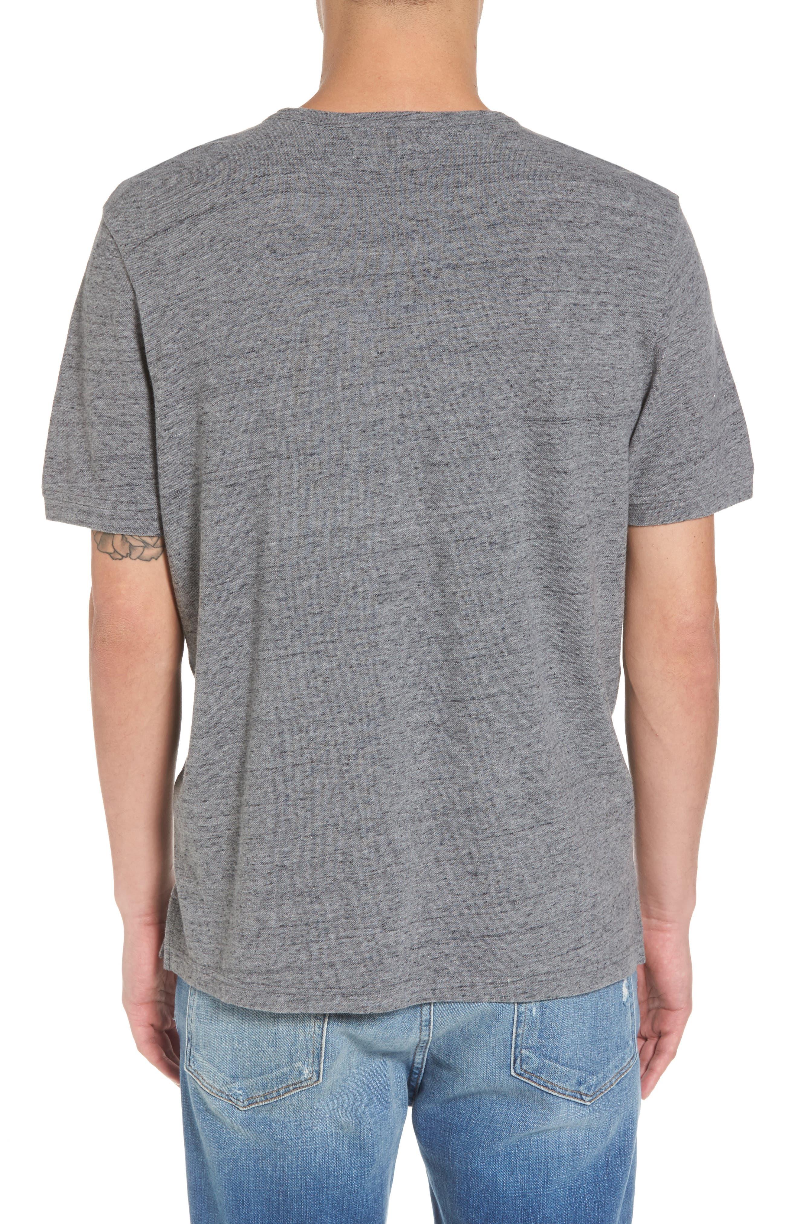 THE RAIL,                             Piqué T-Shirt,                             Alternate thumbnail 2, color,                             030