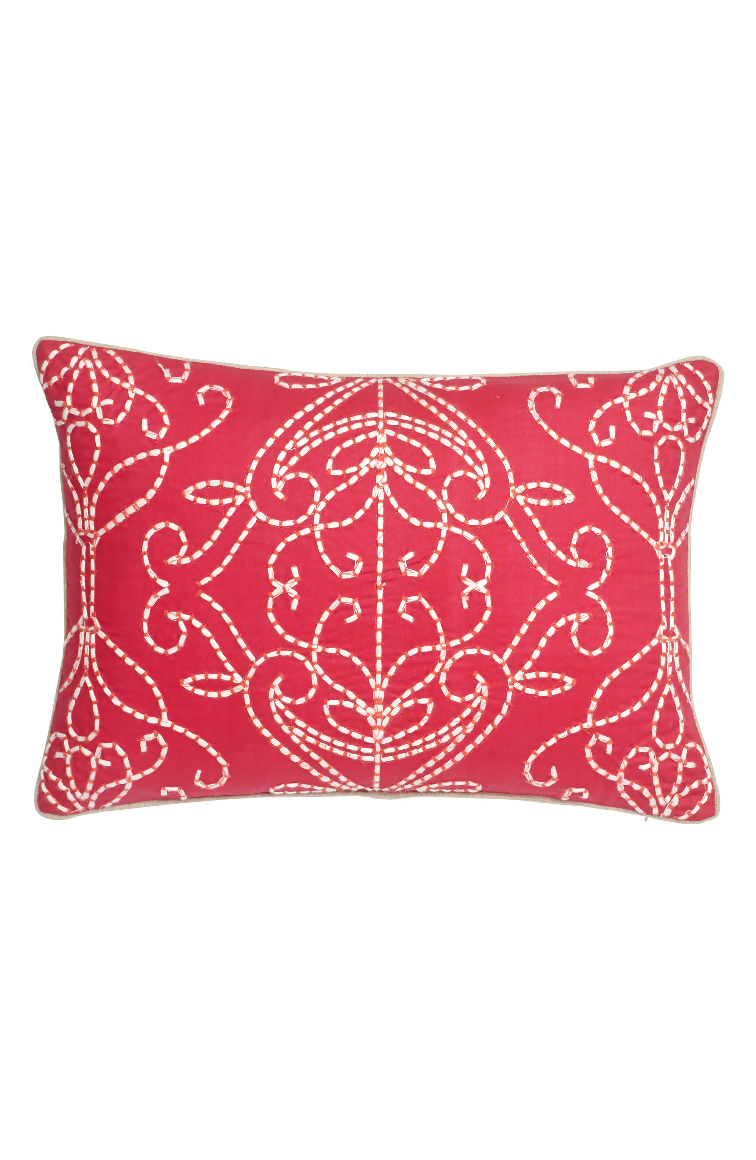 HARLEQUIN Paradise Accent Pillow, Main, color, 650
