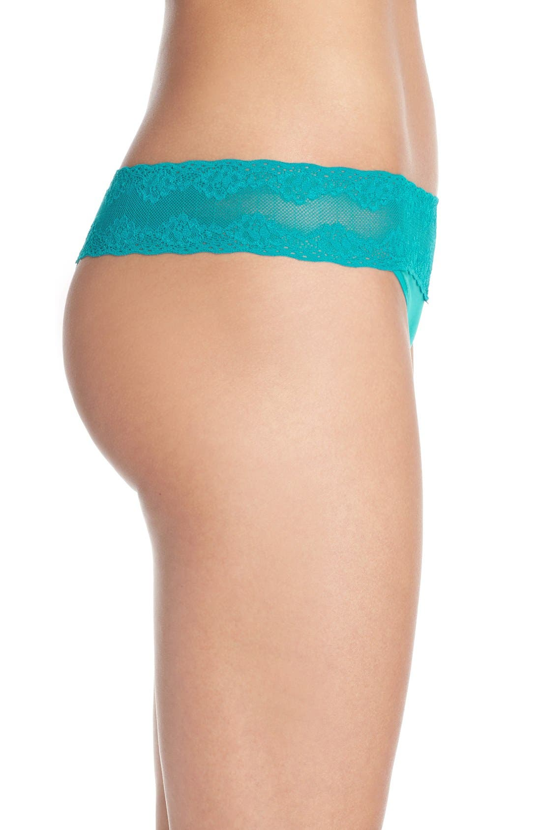 Bliss Perfection Thong,                             Alternate thumbnail 347, color,