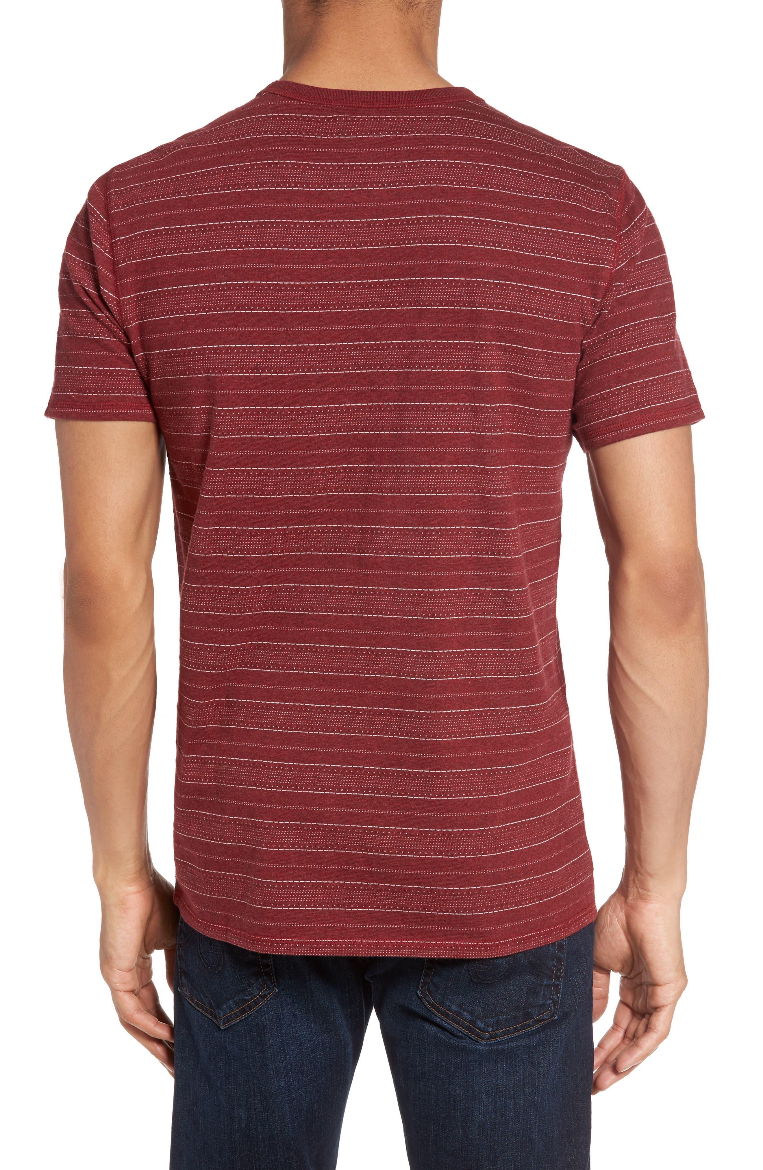 Jacquard Stripe T-Shirt,                             Alternate thumbnail 2, color,                             938