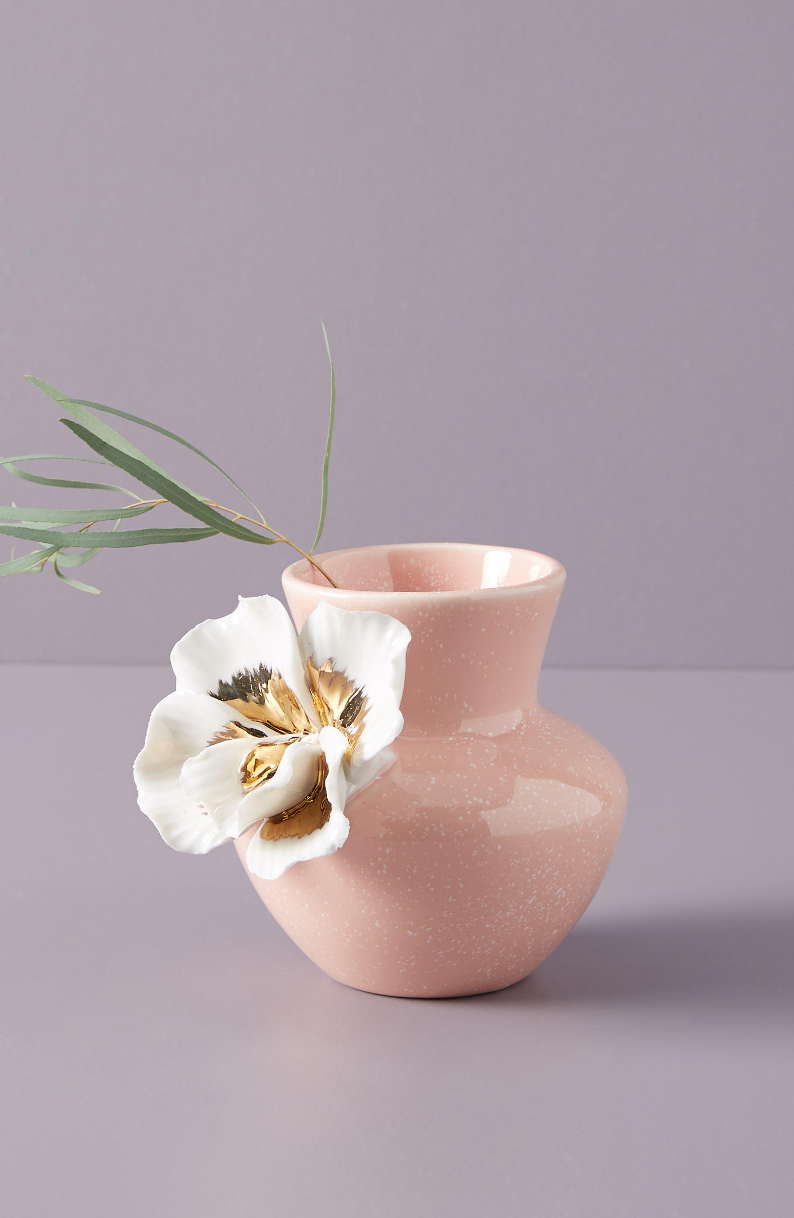 Bloom Vase,                             Main thumbnail 1, color,                             PINK