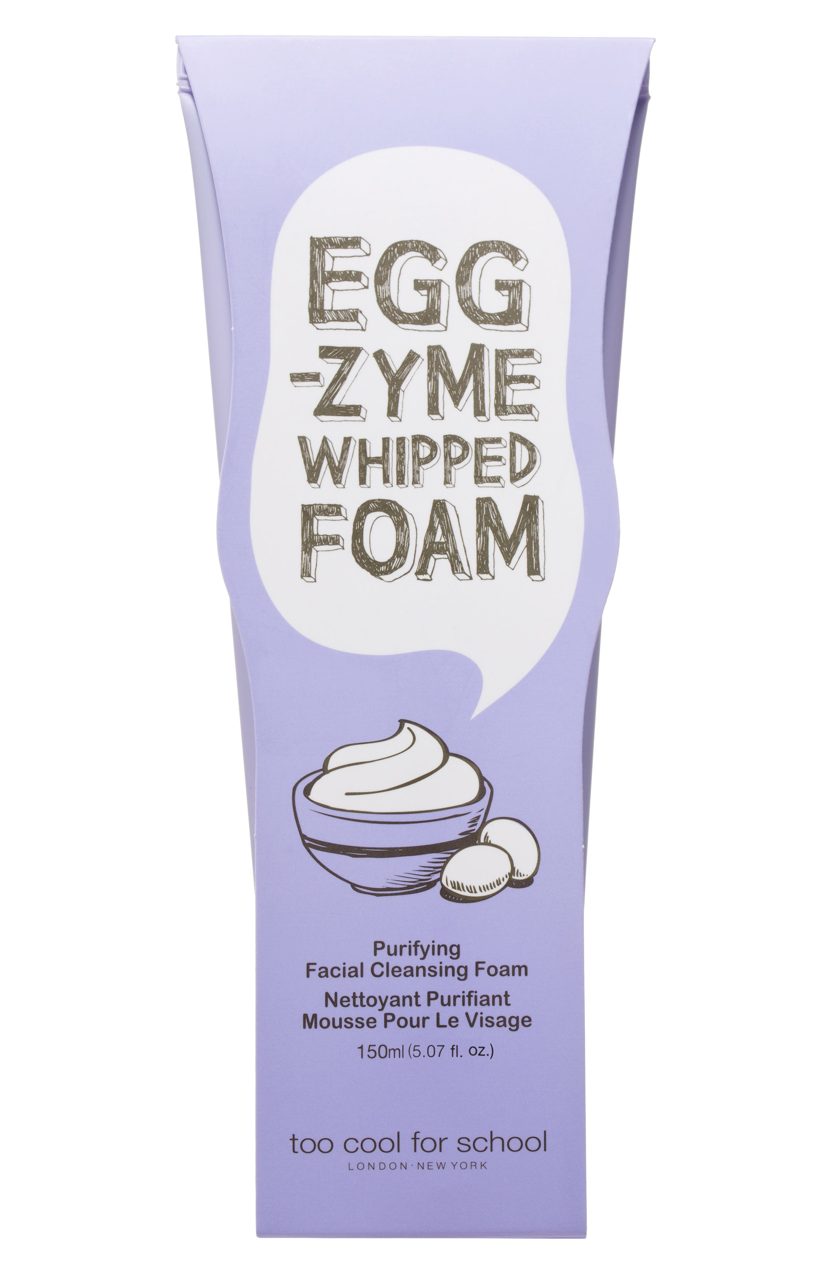 Egg-zyme Whipped Foaming Cleanser,                             Alternate thumbnail 3, color,                             NO COLOR