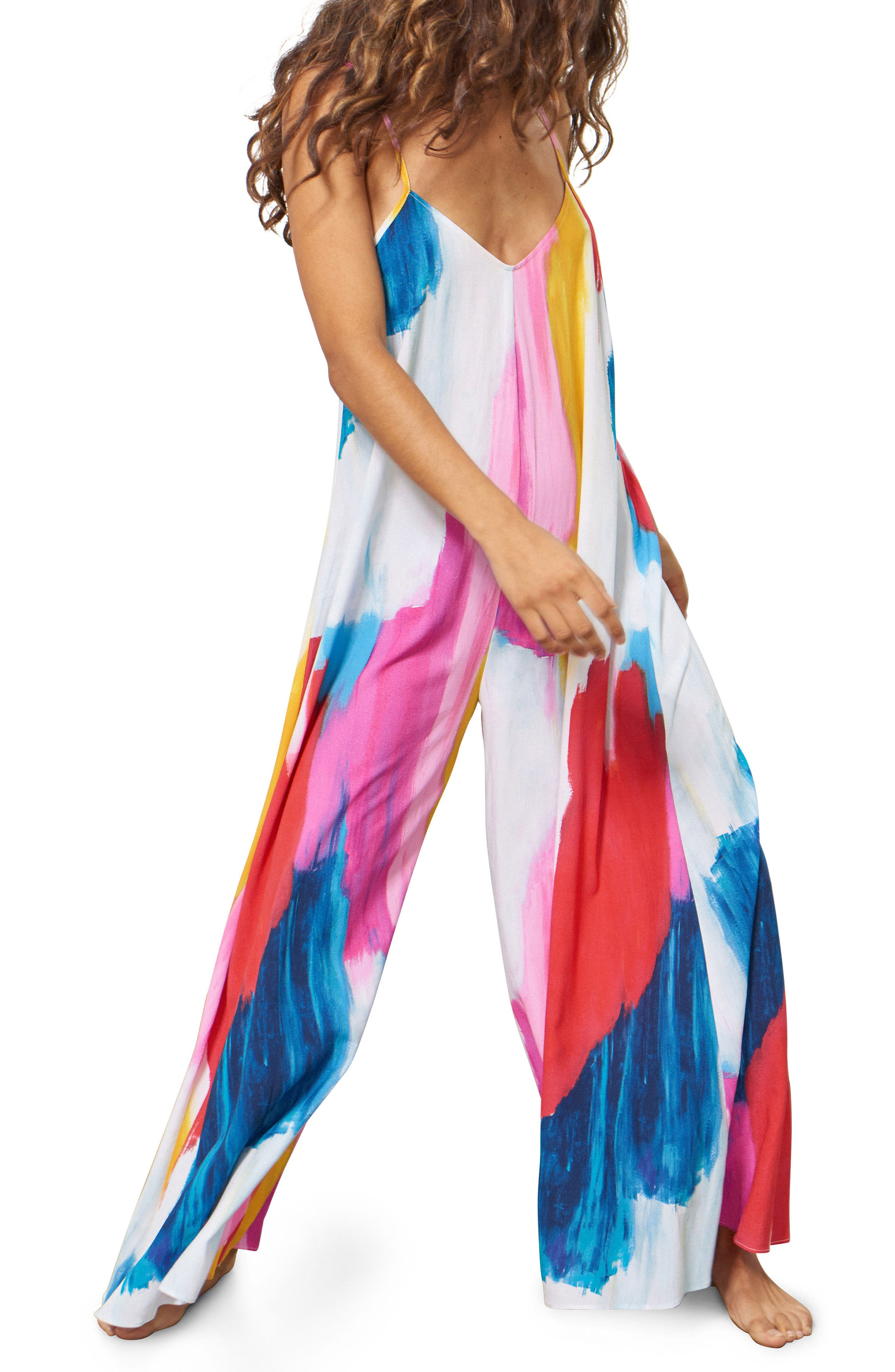 Carly Cover-Up Jumpsuit,                             Alternate thumbnail 2, color,                             652